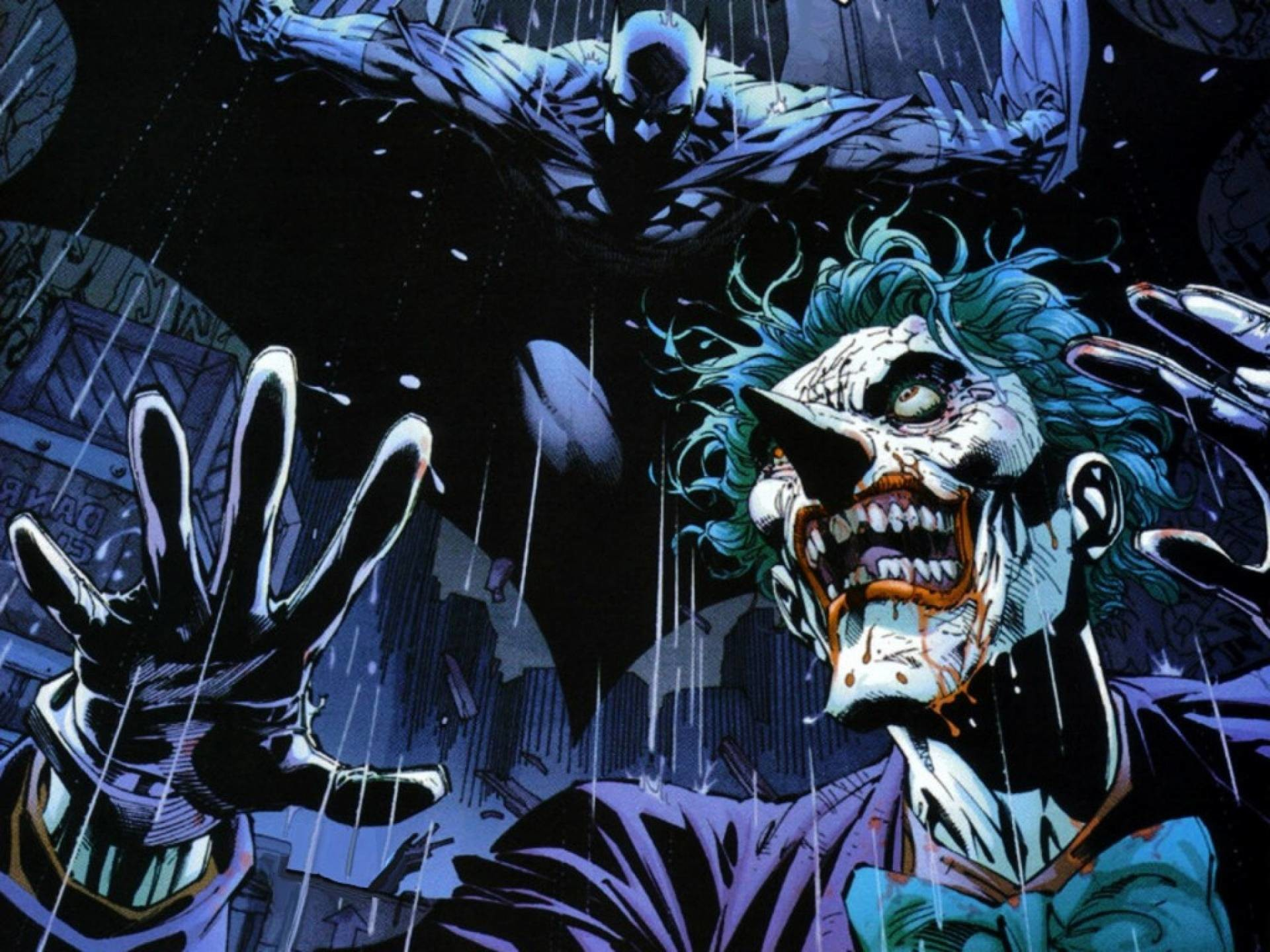 1920x1440 Terrific Batman The Joker Comic Wallpaper 1920x1080PX ~ Comic .