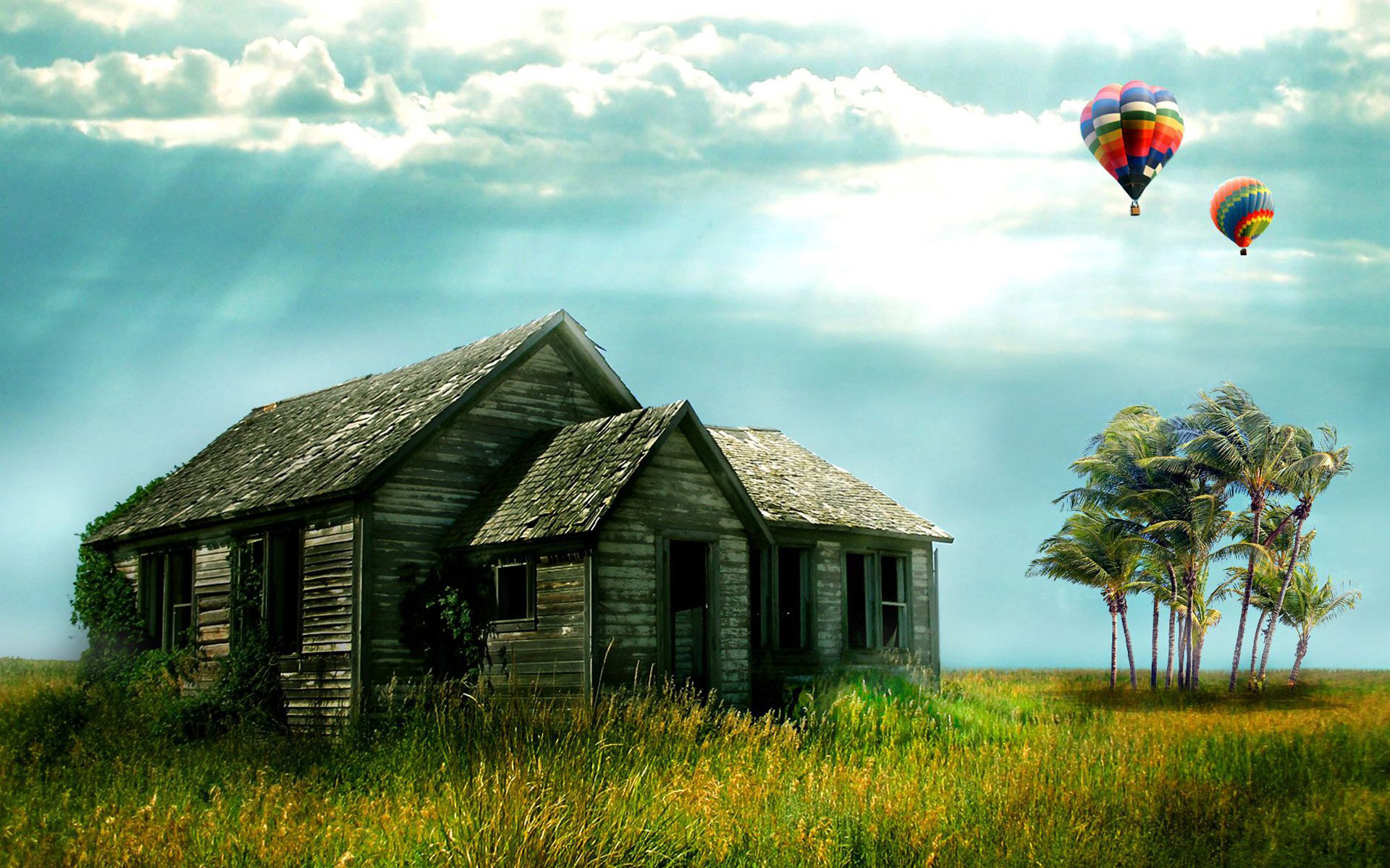 1920x1200 Hot Air Balloon Windows Desktop Backgrounds