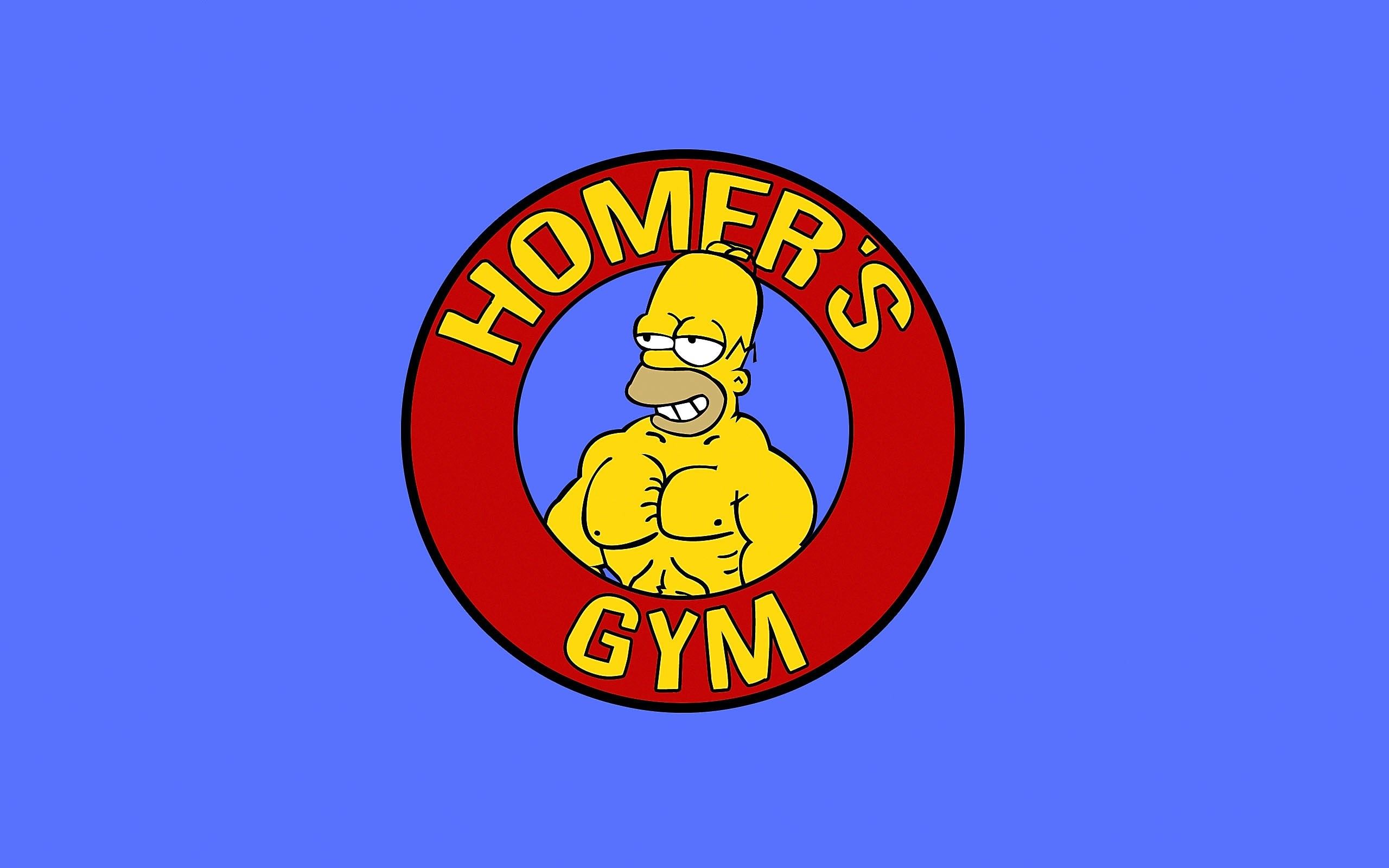 2560x1600 TV Show - The Simpsons Homer Simpson Wallpaper