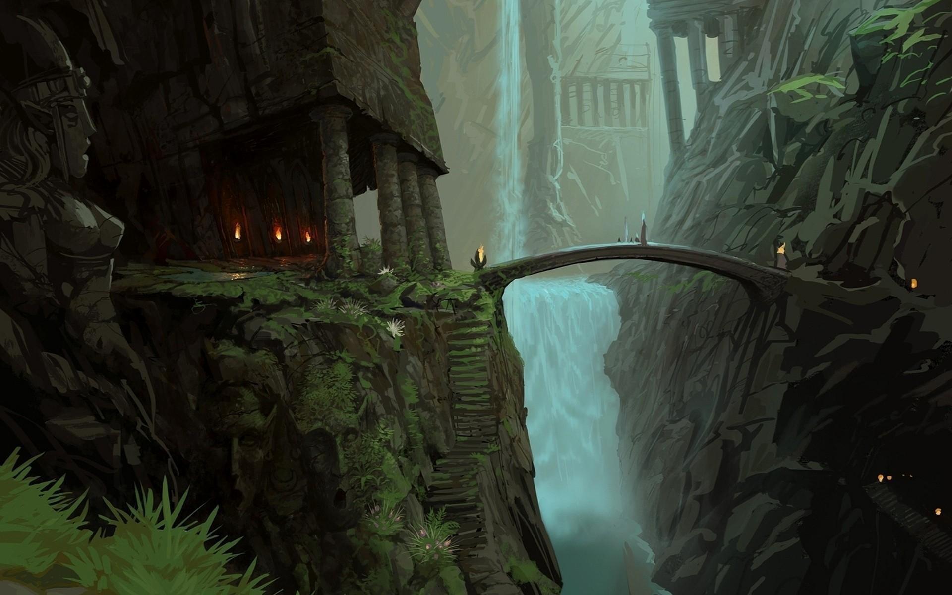 Lord of the rings iphone wallpaper 74 images - Fantasy wallpaper bridge ...