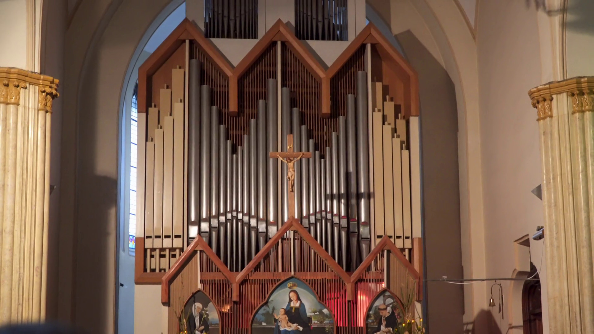 1920x1080 Metal pipes of a classic organ in the Christian Church Yalta Crimea Stock  Video Footage - VideoBlocks