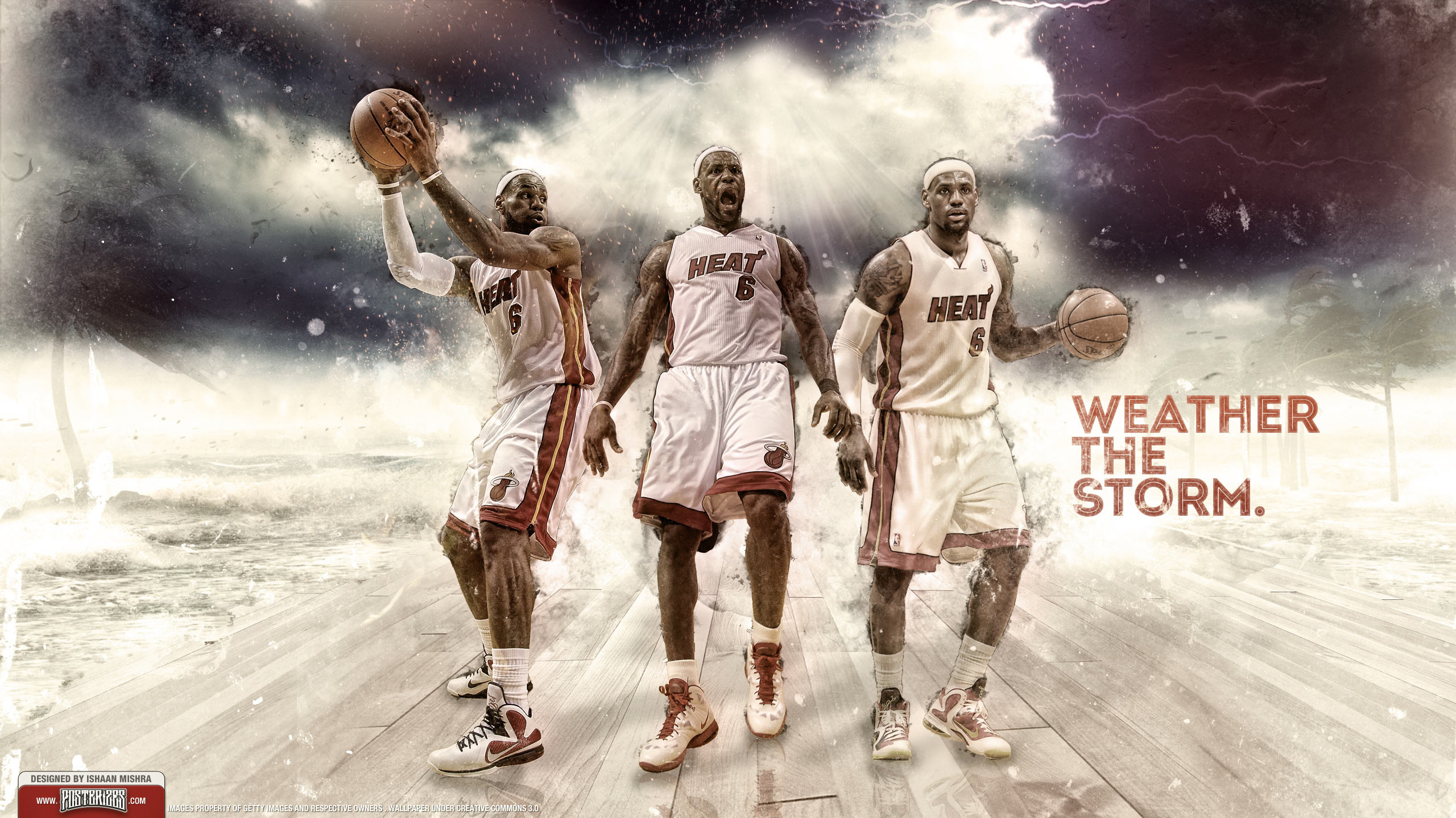 2560x1440 LeBron James 1 Win Away From Title 2560×1440 Wallpaper