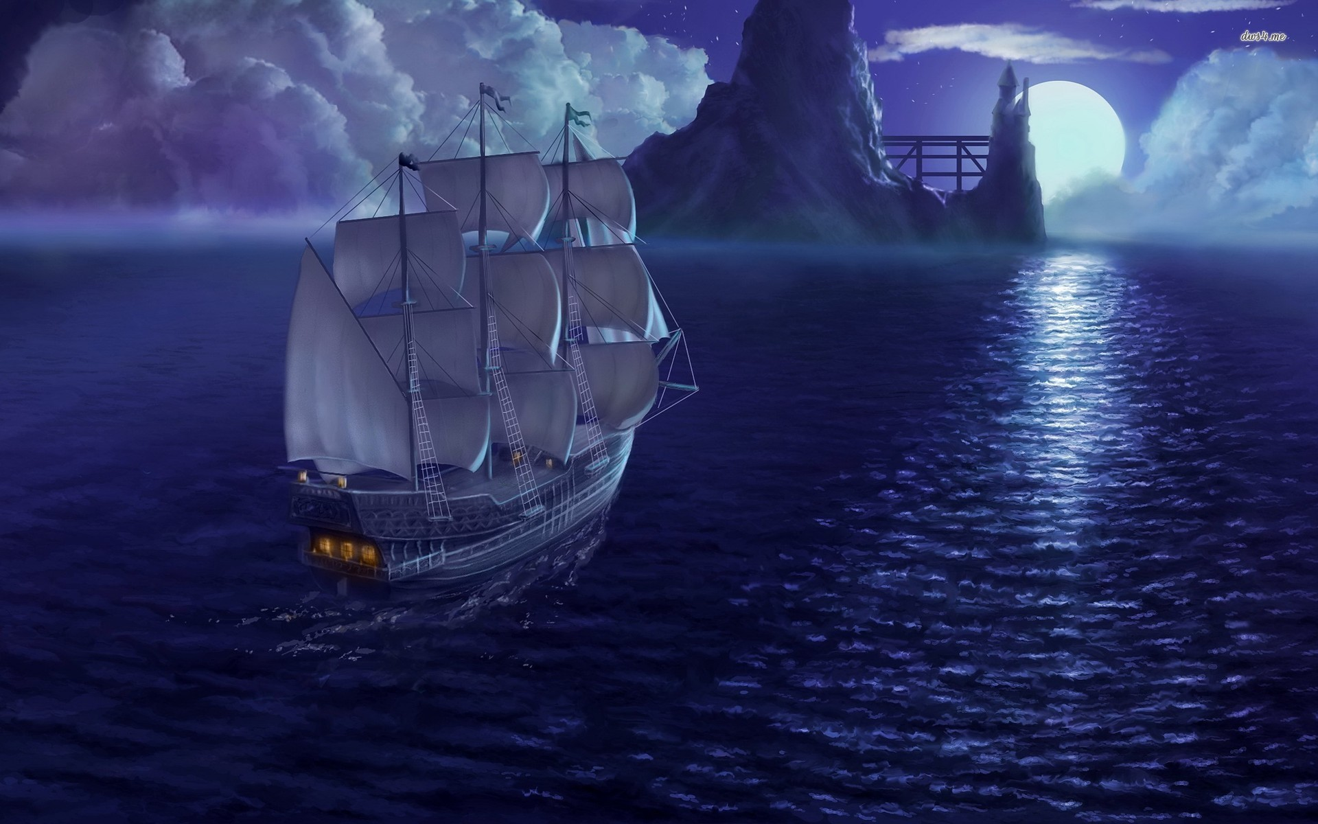 1920x1200 sailing ship wallpaper 2560x1600 - photo #8