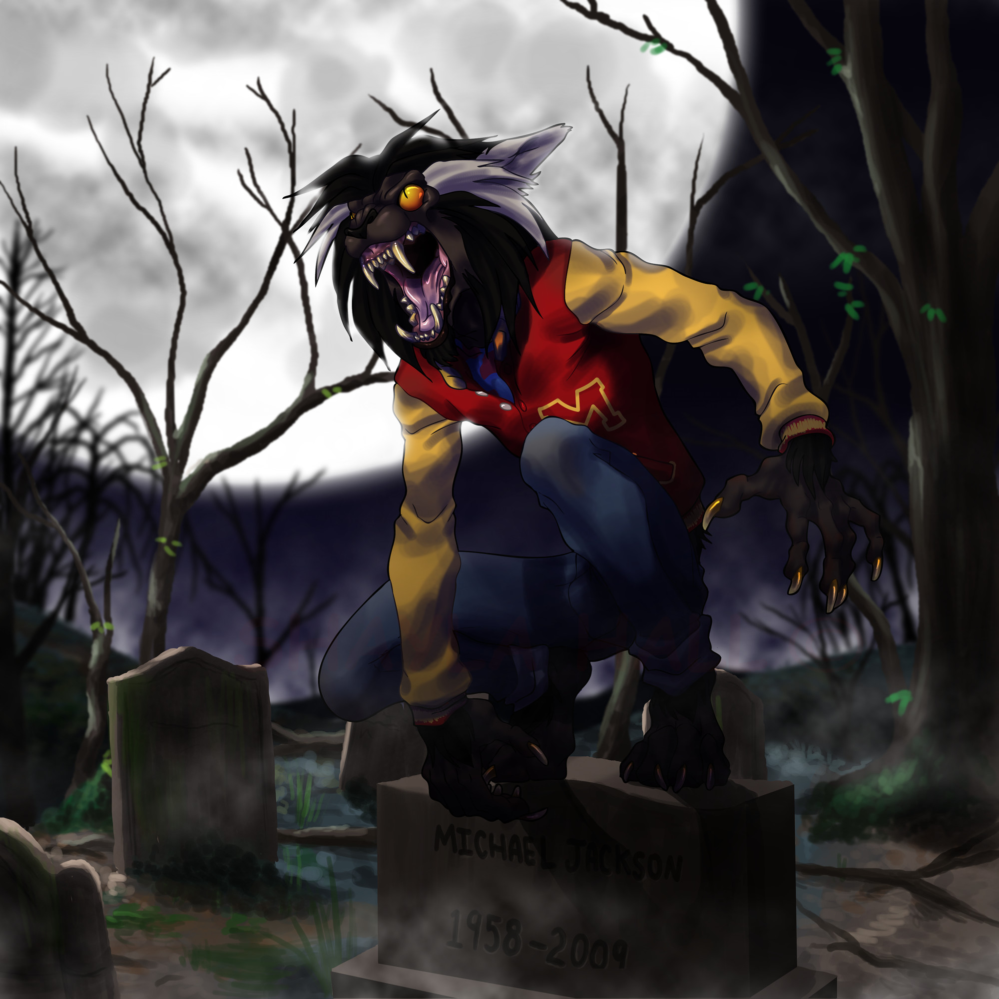 2000x2000 Thriller Michael Jackson Werewolf Images Pictures Becuo