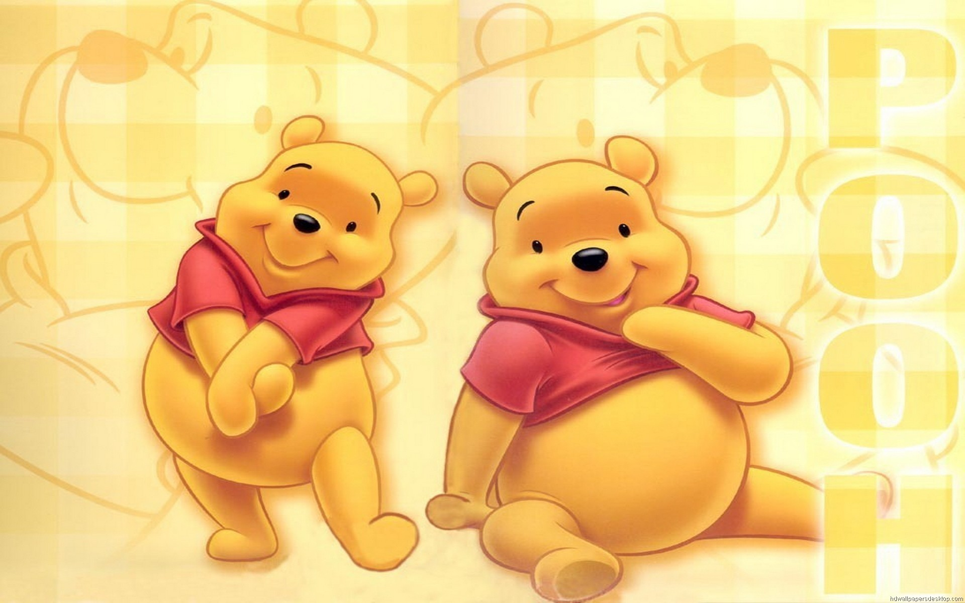 1920x1200 Cartoon - Winnie The Pooh Wallpaper