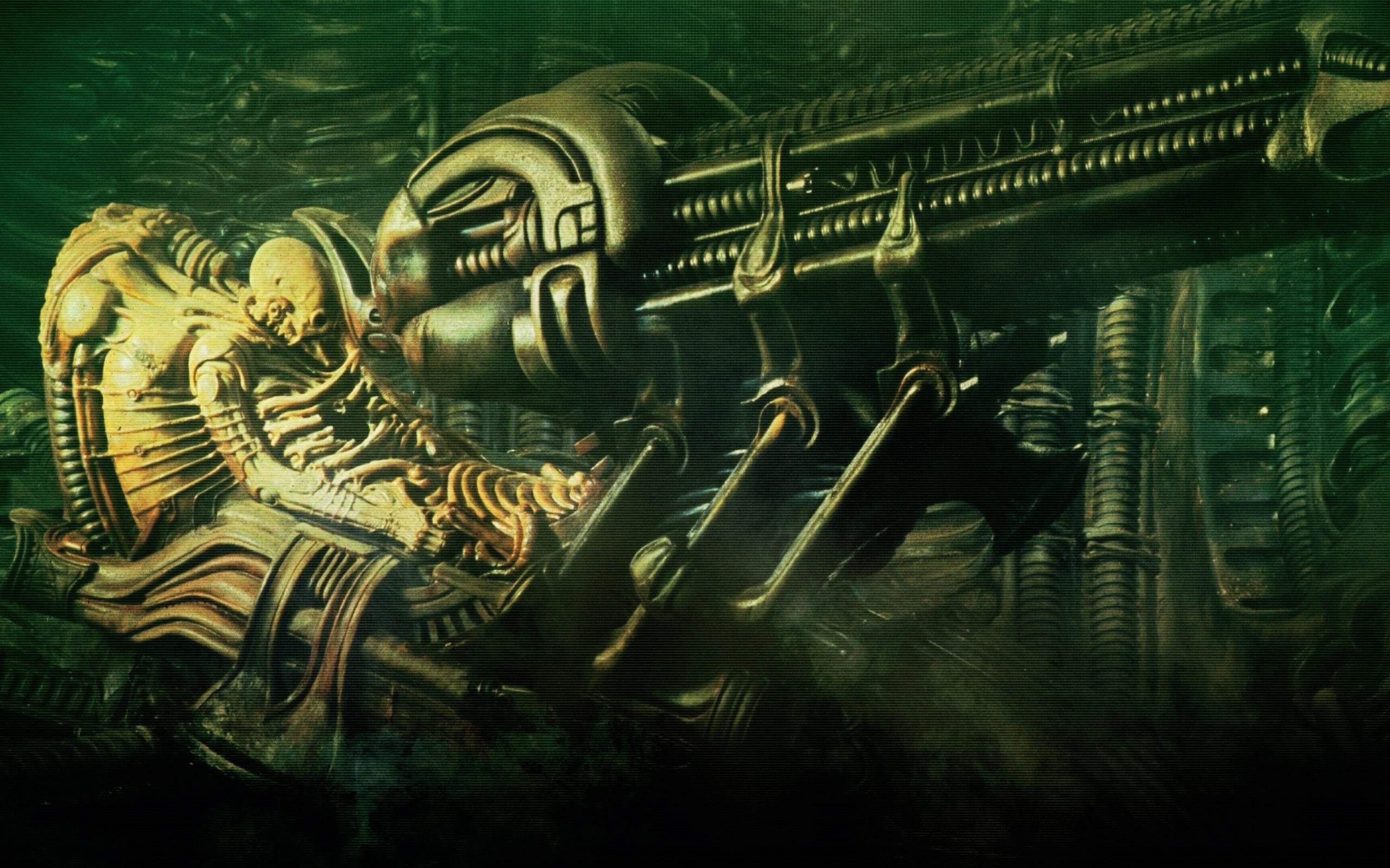 Giger Wallpaper (70+ images) H.r. Giger Alien Wallpaper