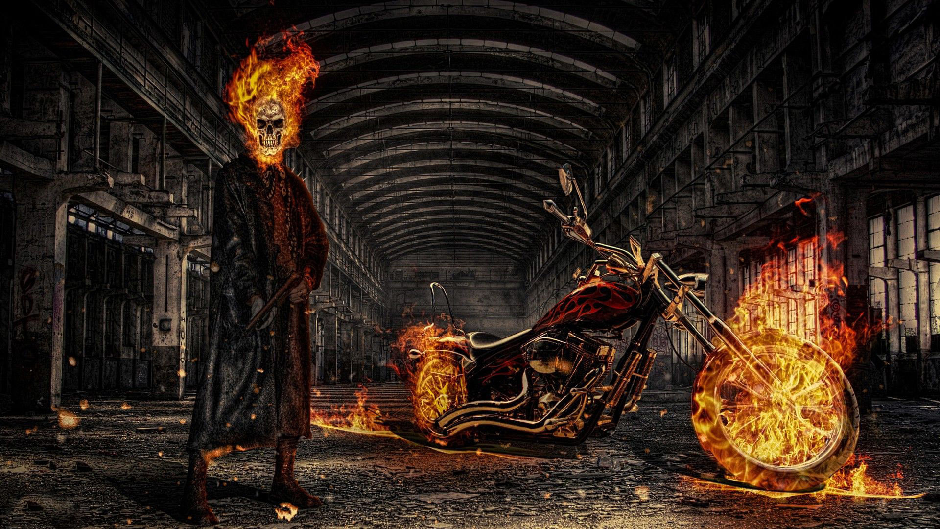 ghost rider wallpaper (74+ images)