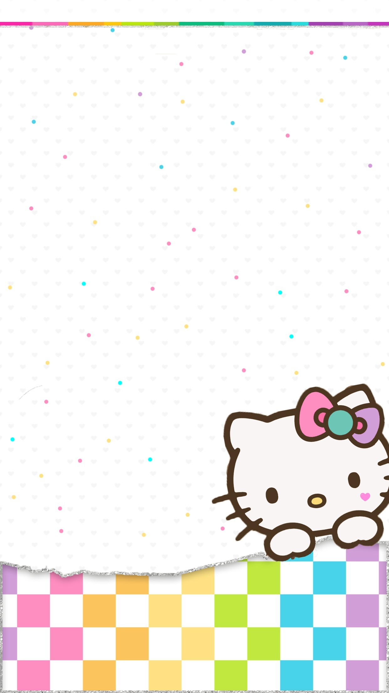 1242x2208 Android and Hello Kitty Lover