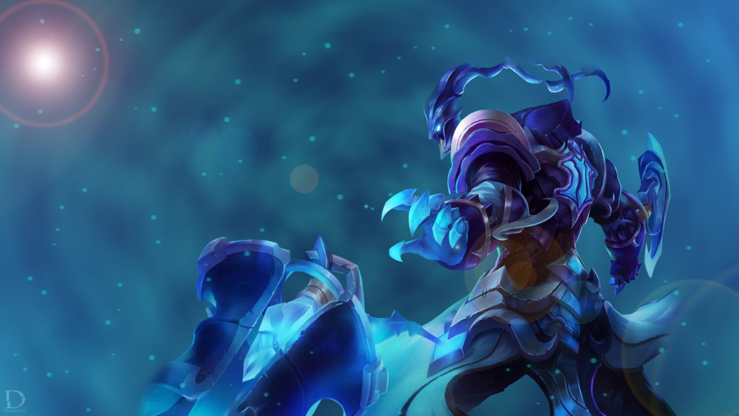 2560x1440 Championship Thresh by Drazieth HD Wallpaper Fan Art Artwork League of  Legends lol