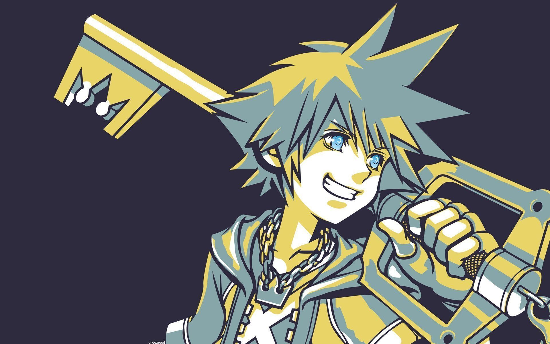 1920x1200 Kingdom Hearts Sora Wallpaper Hd - Viewing Gallery
