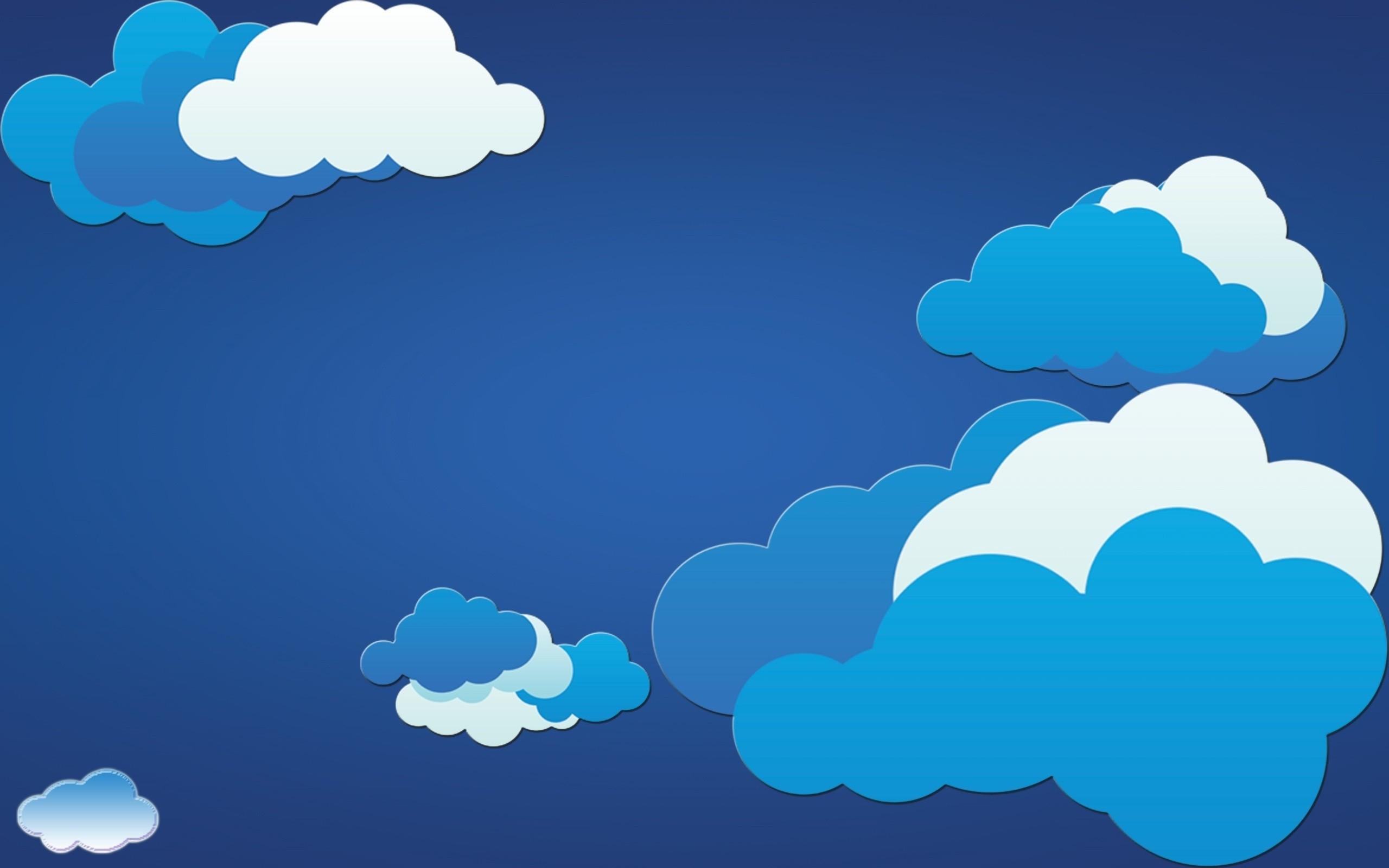 Blue Clouds Wallpaper 54 Images