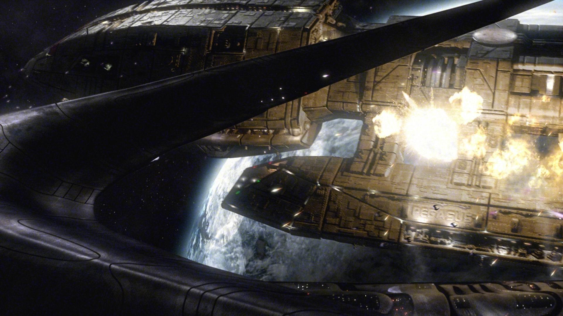 2560x1440 Battlestar Galactica Viper Wallpaper 471048