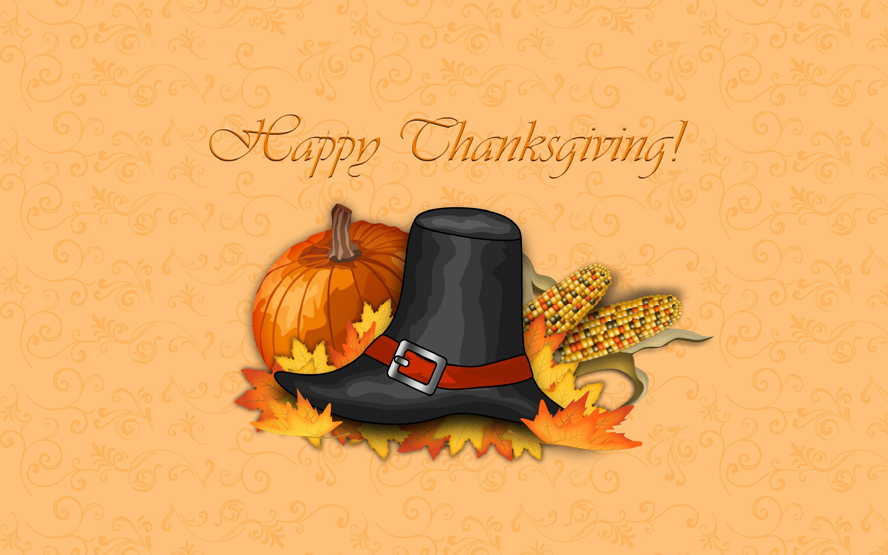 2880x1800 Pilgrim Hat Thanksgiving