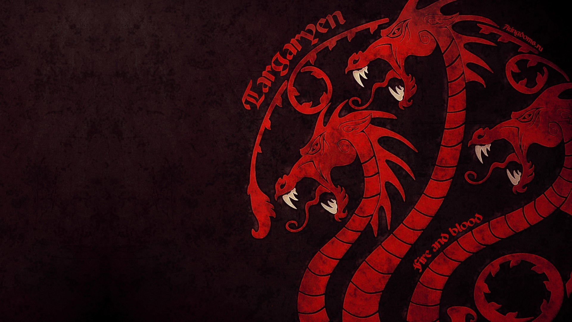 1920x1080 Game of Thrones House Targaryen - Wallpaper, High Definition, High .