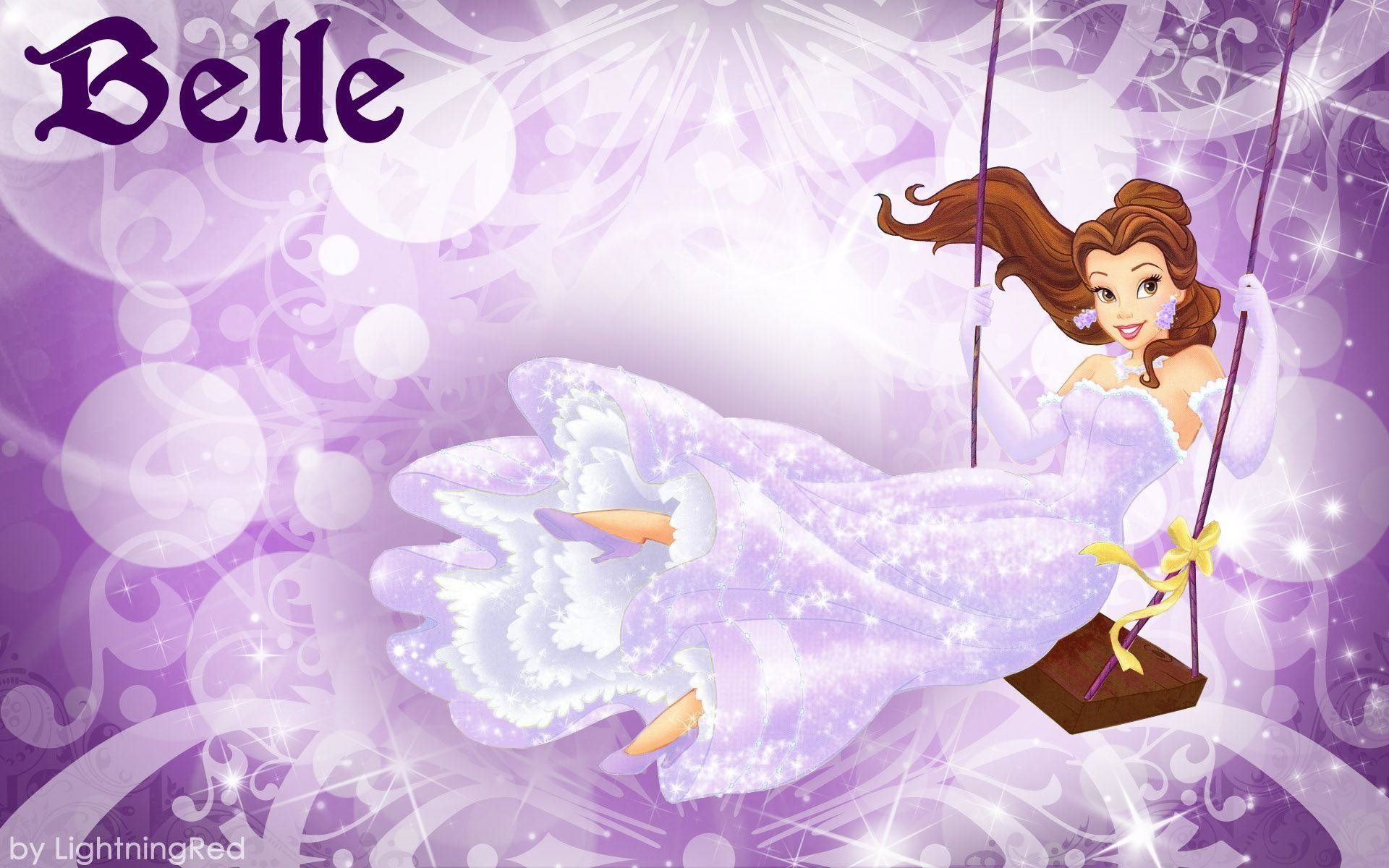 1920x1200 Purple Belle Wallpaper - Disney Princess Wallpaper (31673208) - Fanpop