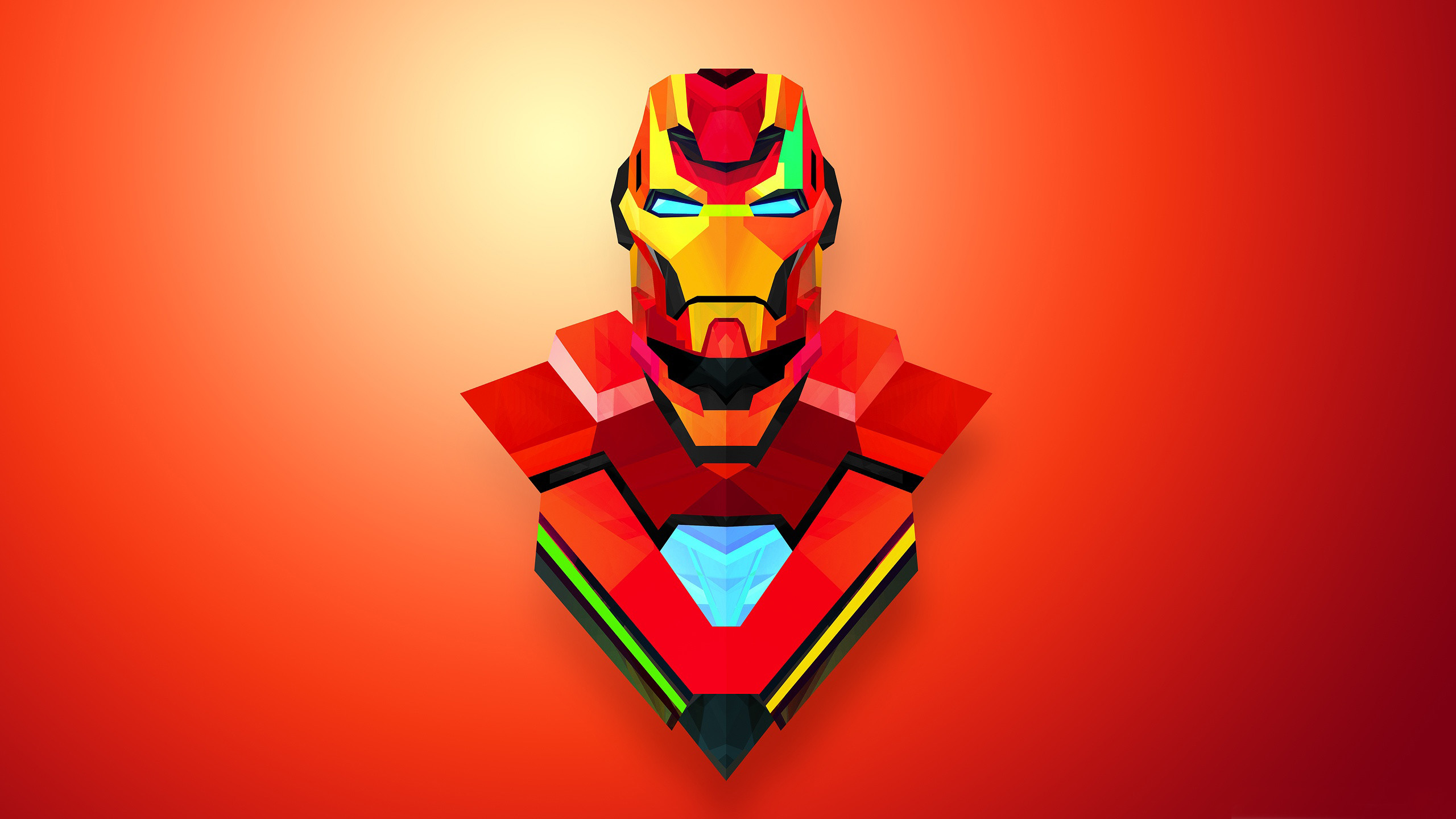 2560x1440 Attachment for Artistic Iron Man Wallpaper in Abstract Art ...