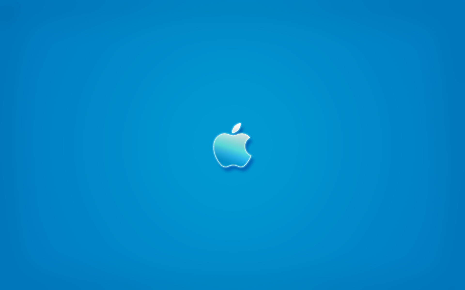 1920x1200 Apple Blue Wallpaper Photo