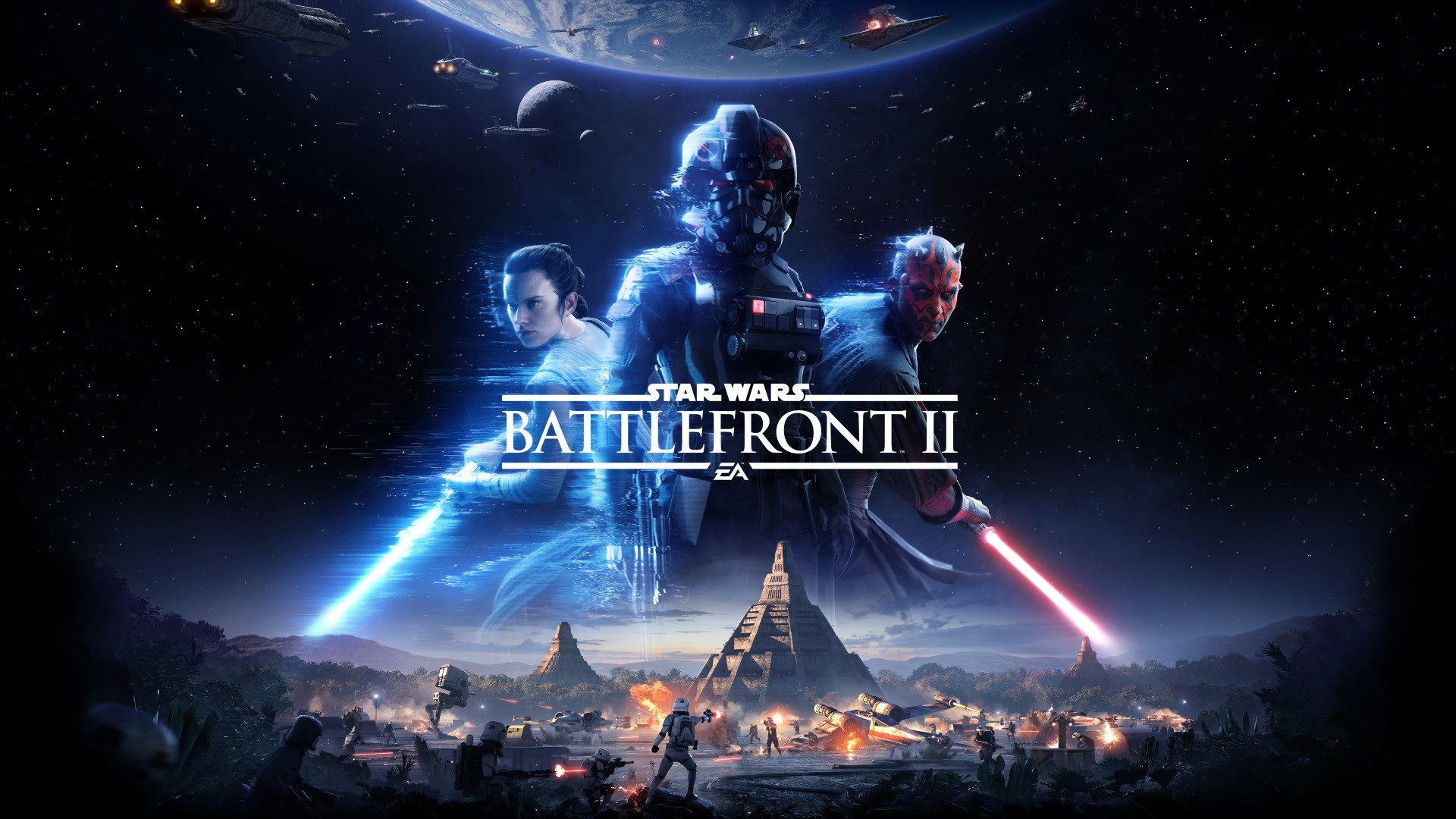 1920x1080 Star Wars Battlefront 2 II Console Wallpaper