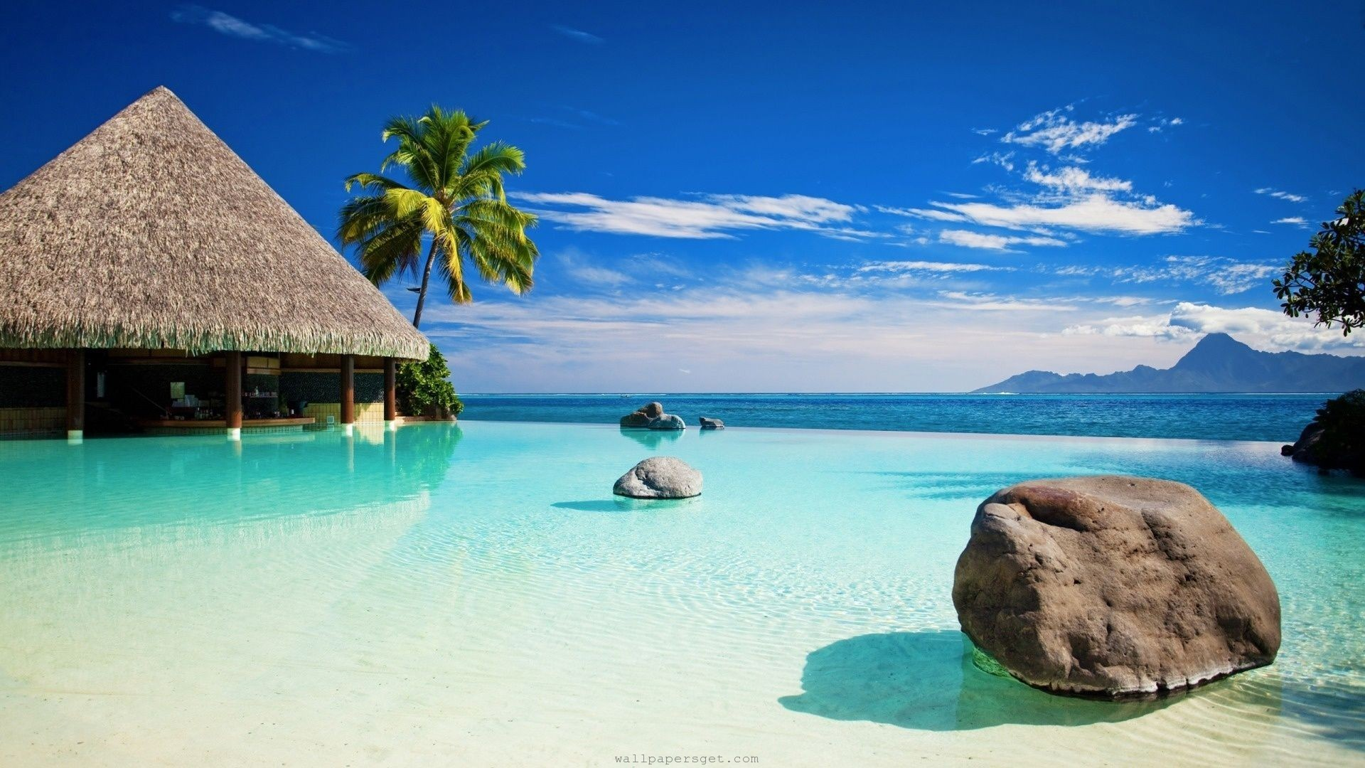 Tropical Island Wallpapers 67 Images