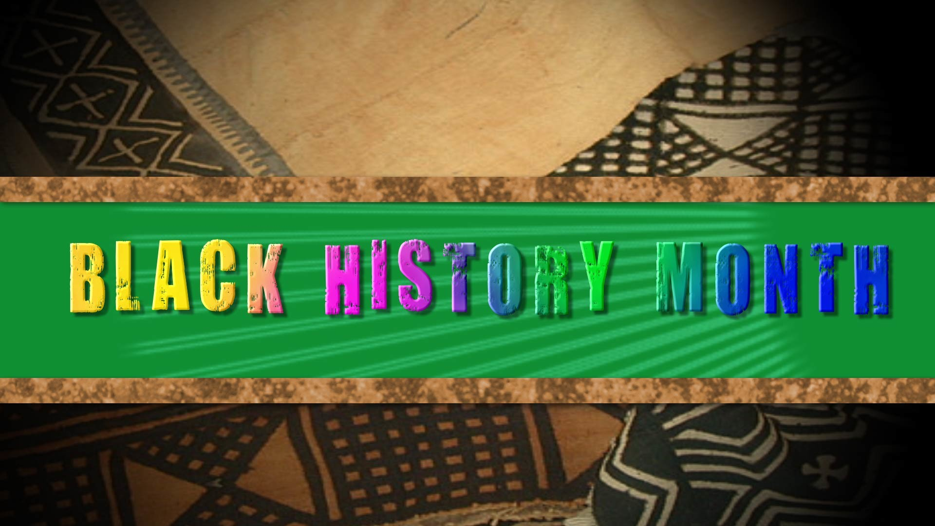 1920x1080 Black History Month 4 Video, PowerPoint, Graphics | Progressive Church .