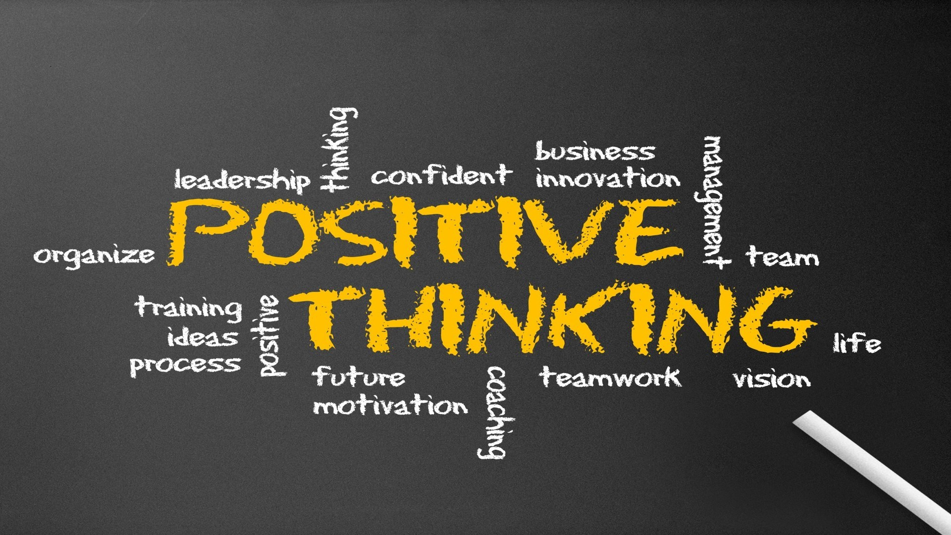 think positive win positively When positive thinking creates unnecessary stress  whether people succeed  is not a matter of thinking positively or negatively, but rather.