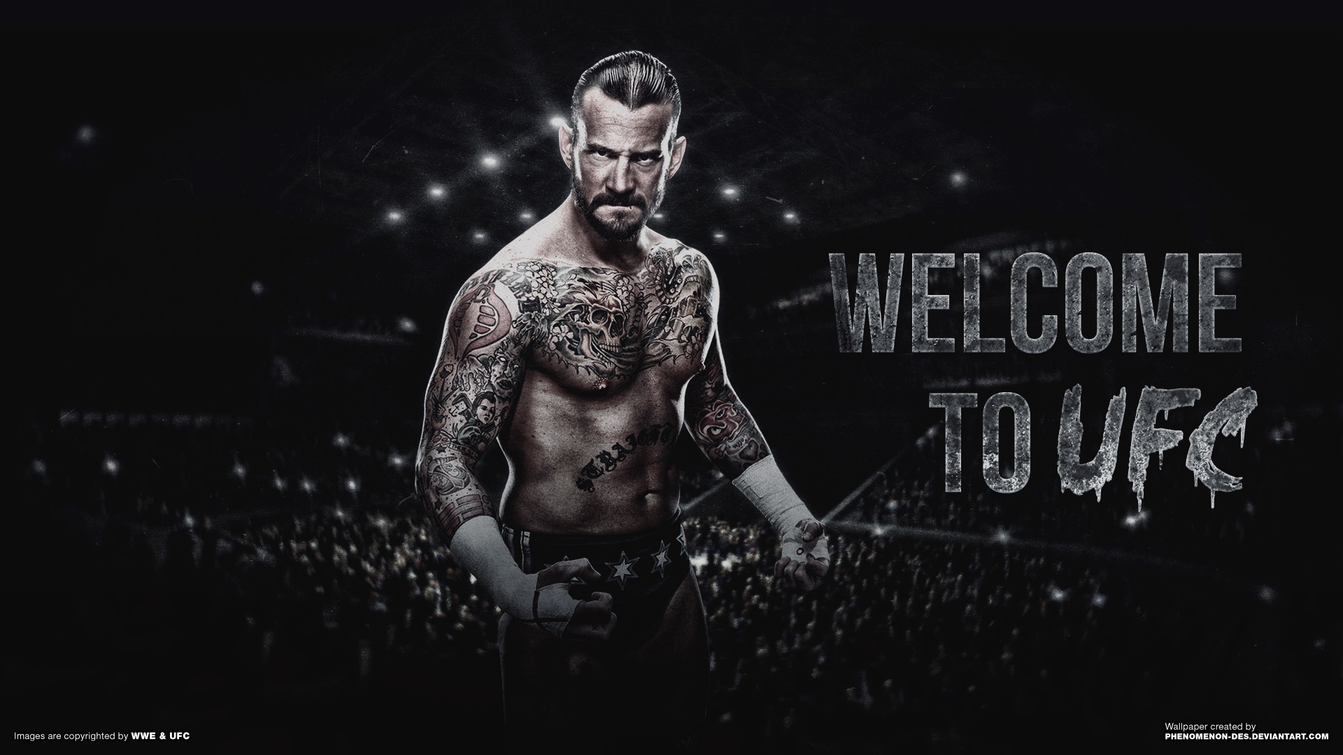 1920x1080 UFC CM Punk Wallpaper by Phenomenon-Des …