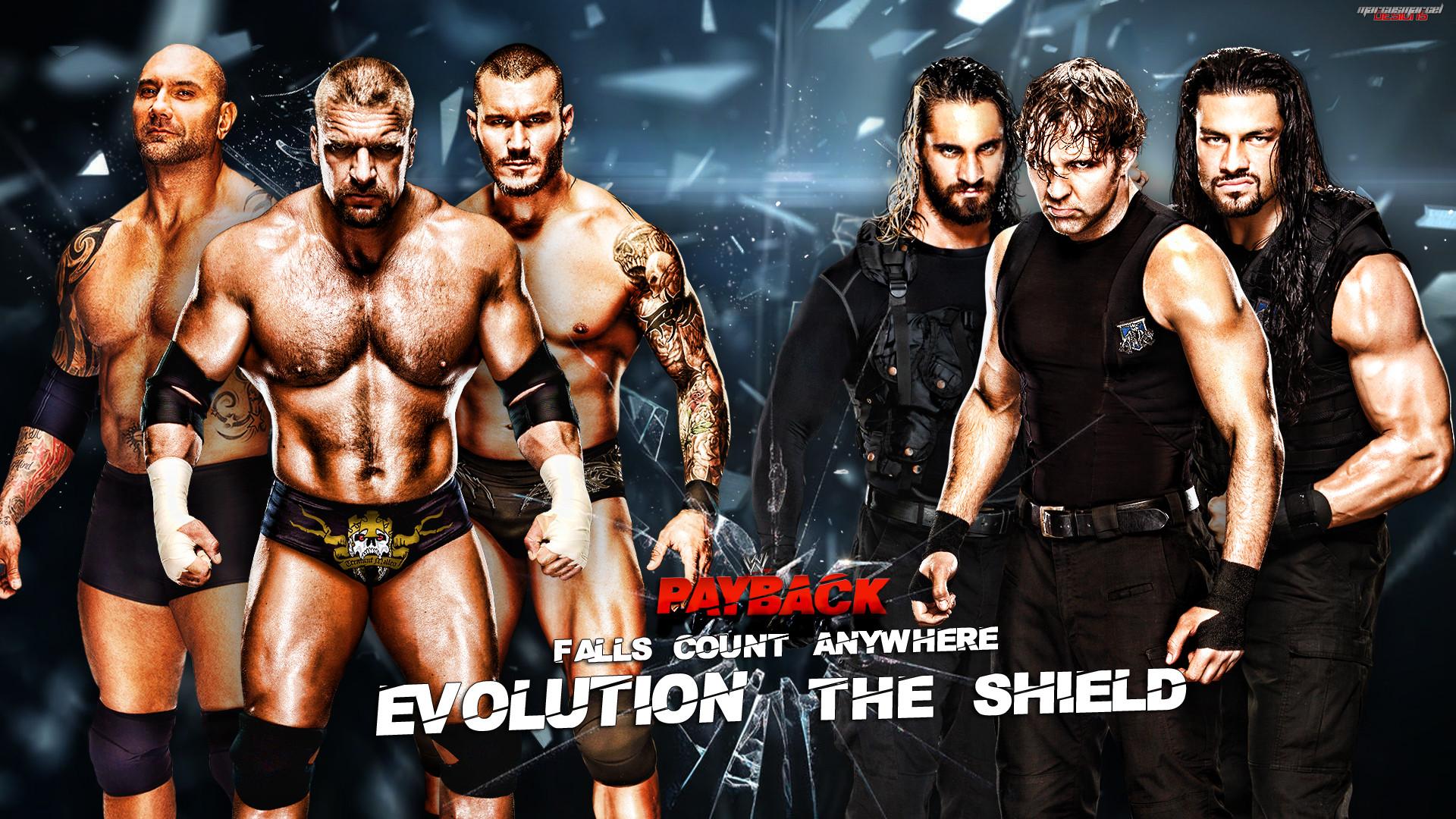 Creation Studio WWE The Shield Wallpaper 1