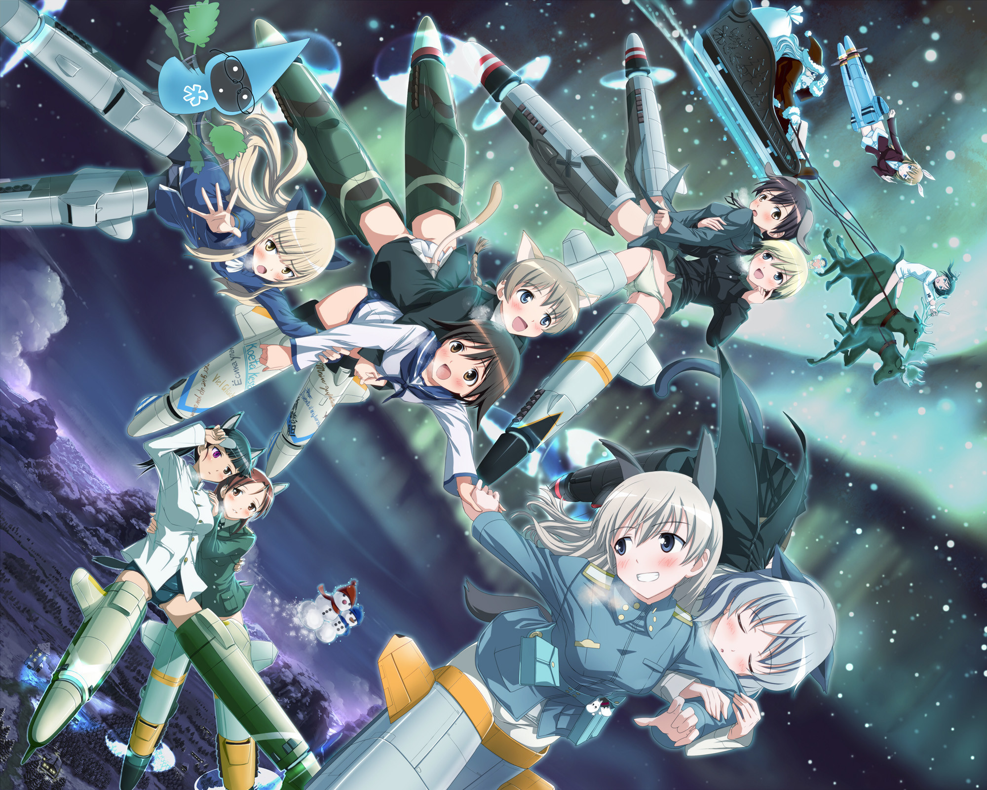 2000x1600 strike witches wallpaper - Buscar con Google