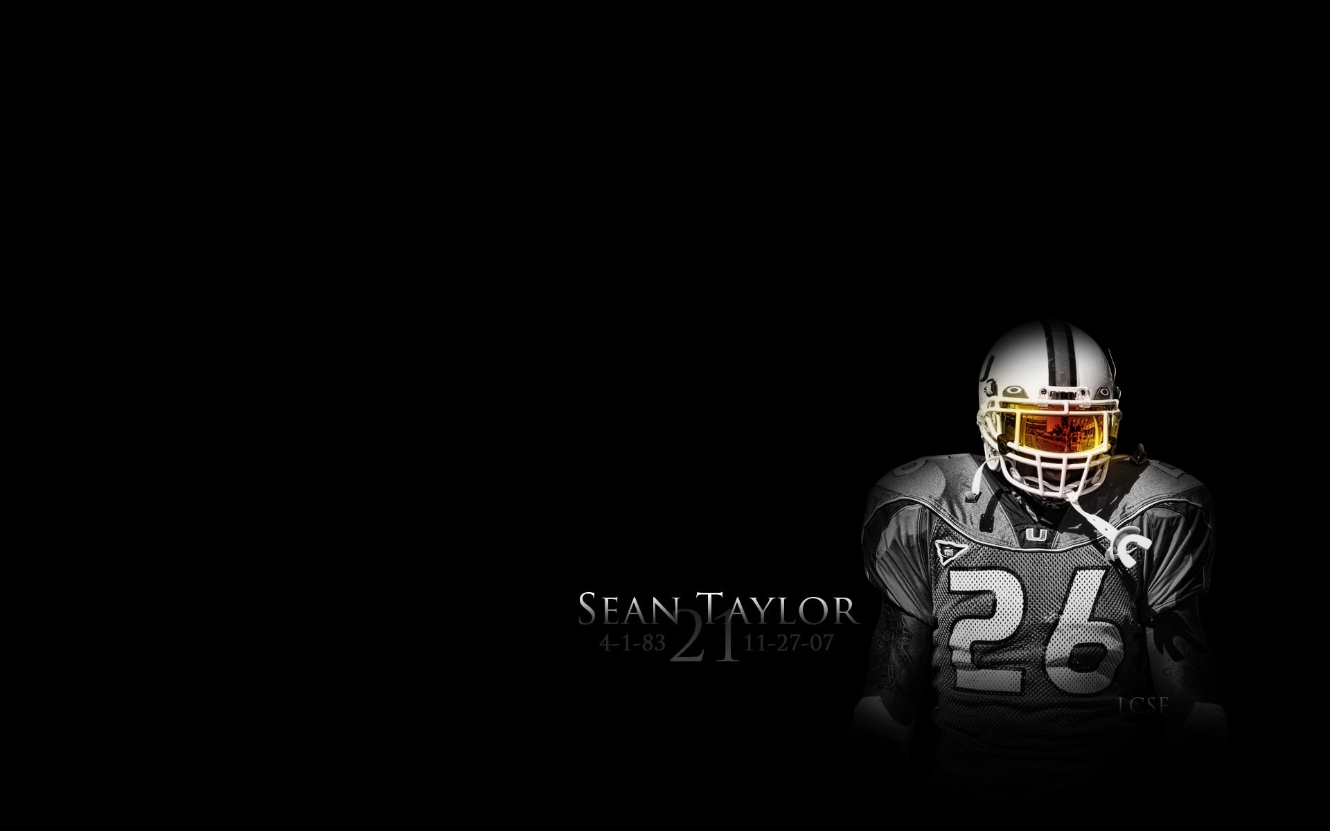 1920x1200 Sean Taylor Miami Hurricanes, redskins, washington,  HD .
