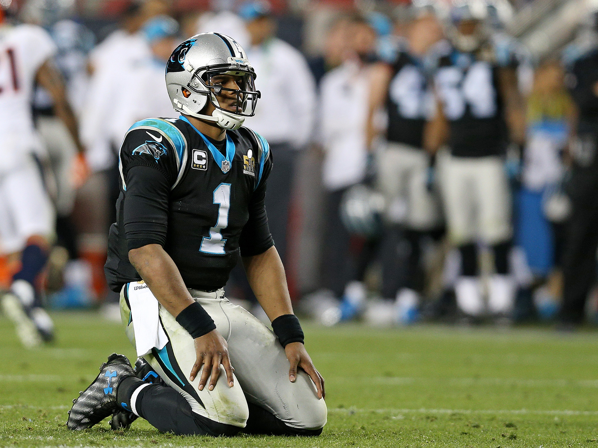 2048x1536 Cam Newton criticised for not jumping on ball following key Super Bowl 50  fumble | The Independent