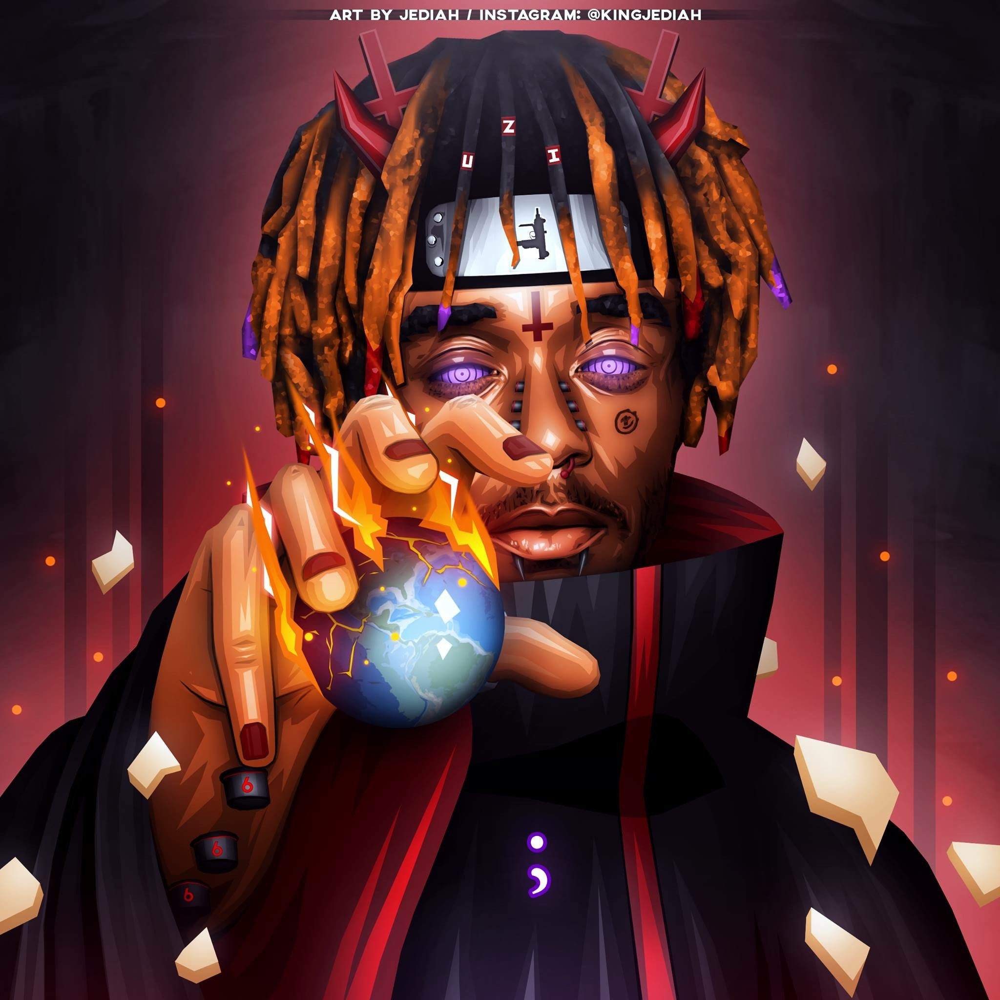 Cartoon Lil Uzi Wallpaper Iphone