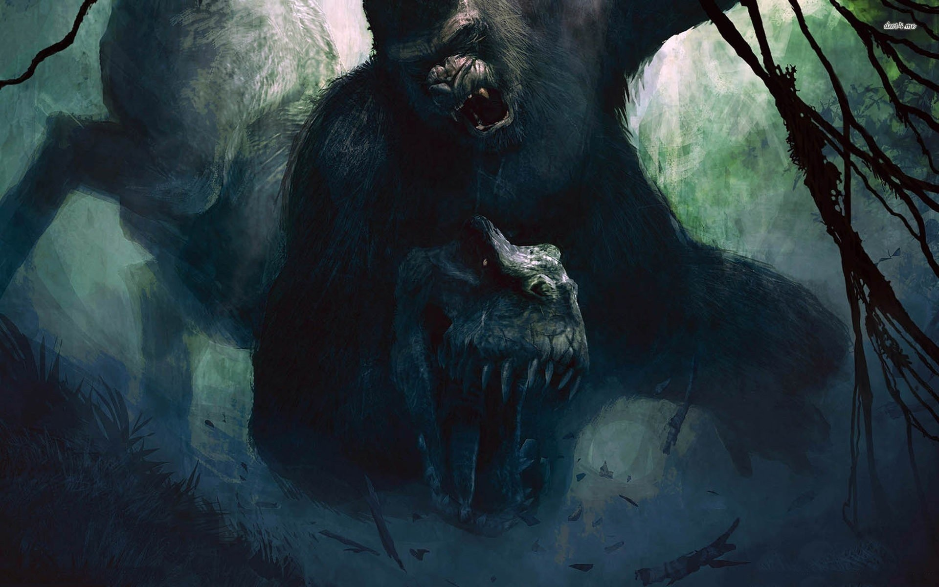 1920x1200 Peter Jackson's King Kong - The Official Game Of Movie