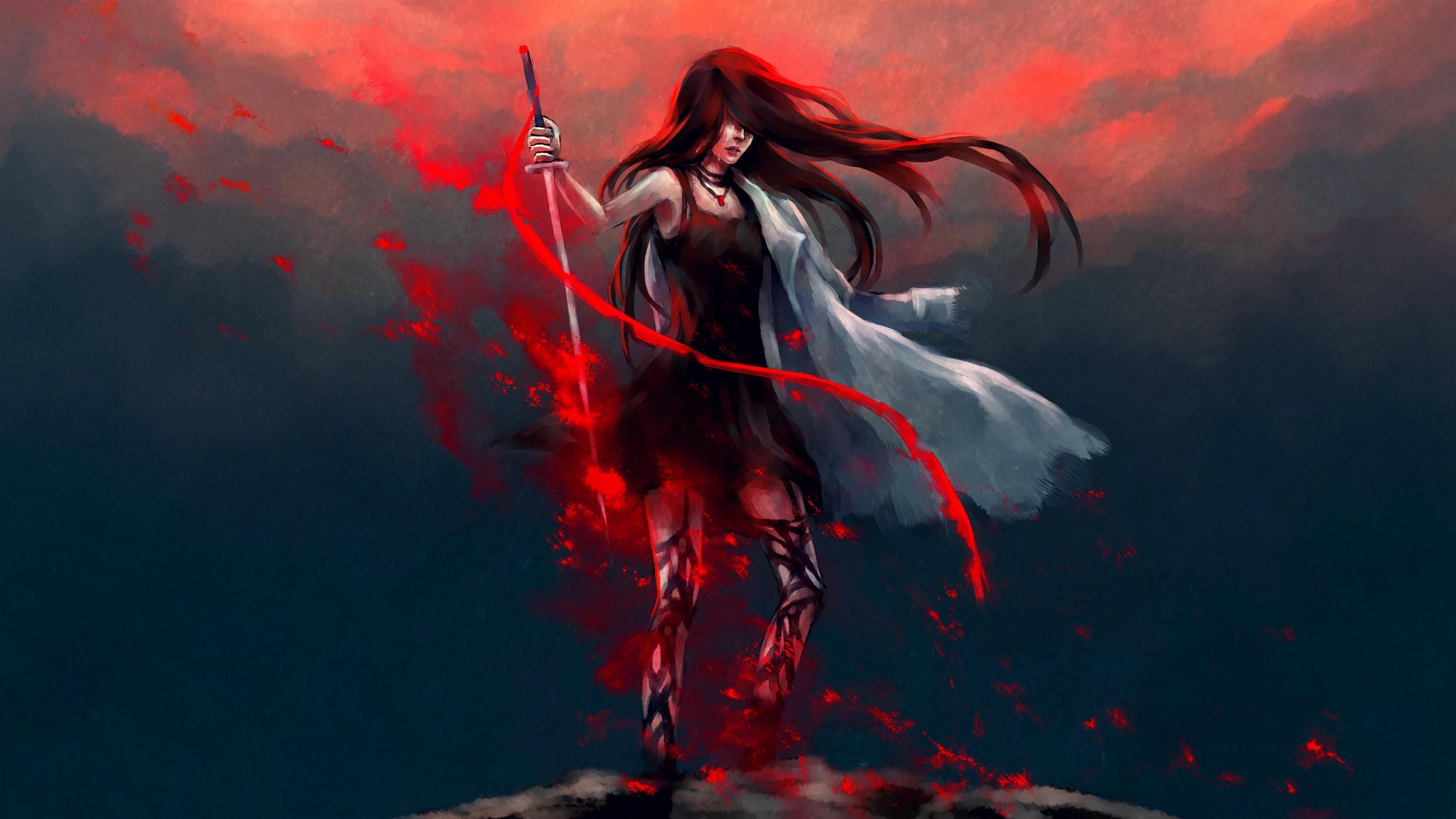 Samurai Girl Wallpaper (76+ images)