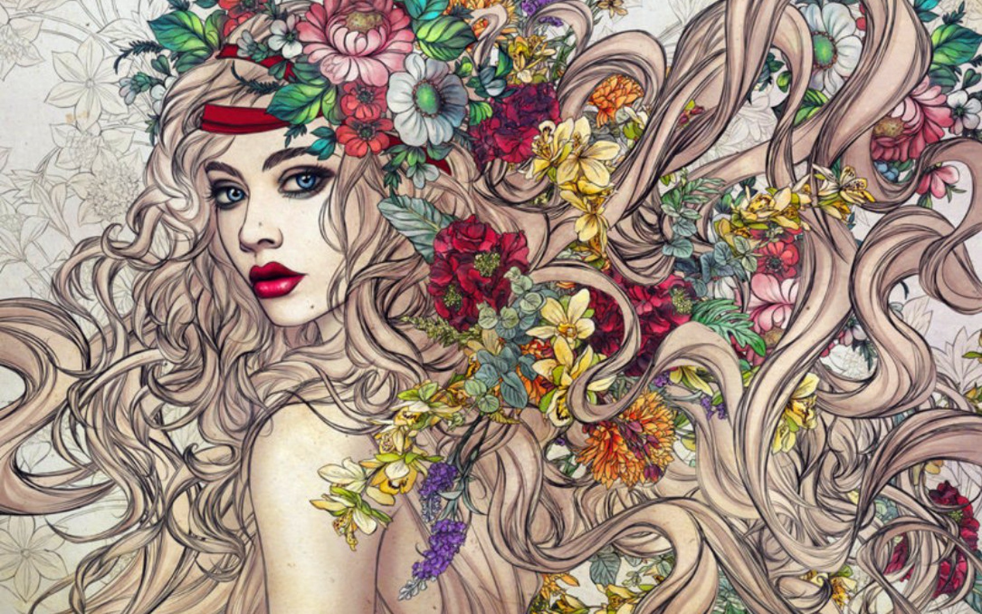 1920x1200 Bild: Flower Power wallpapers and stock photos. Â«