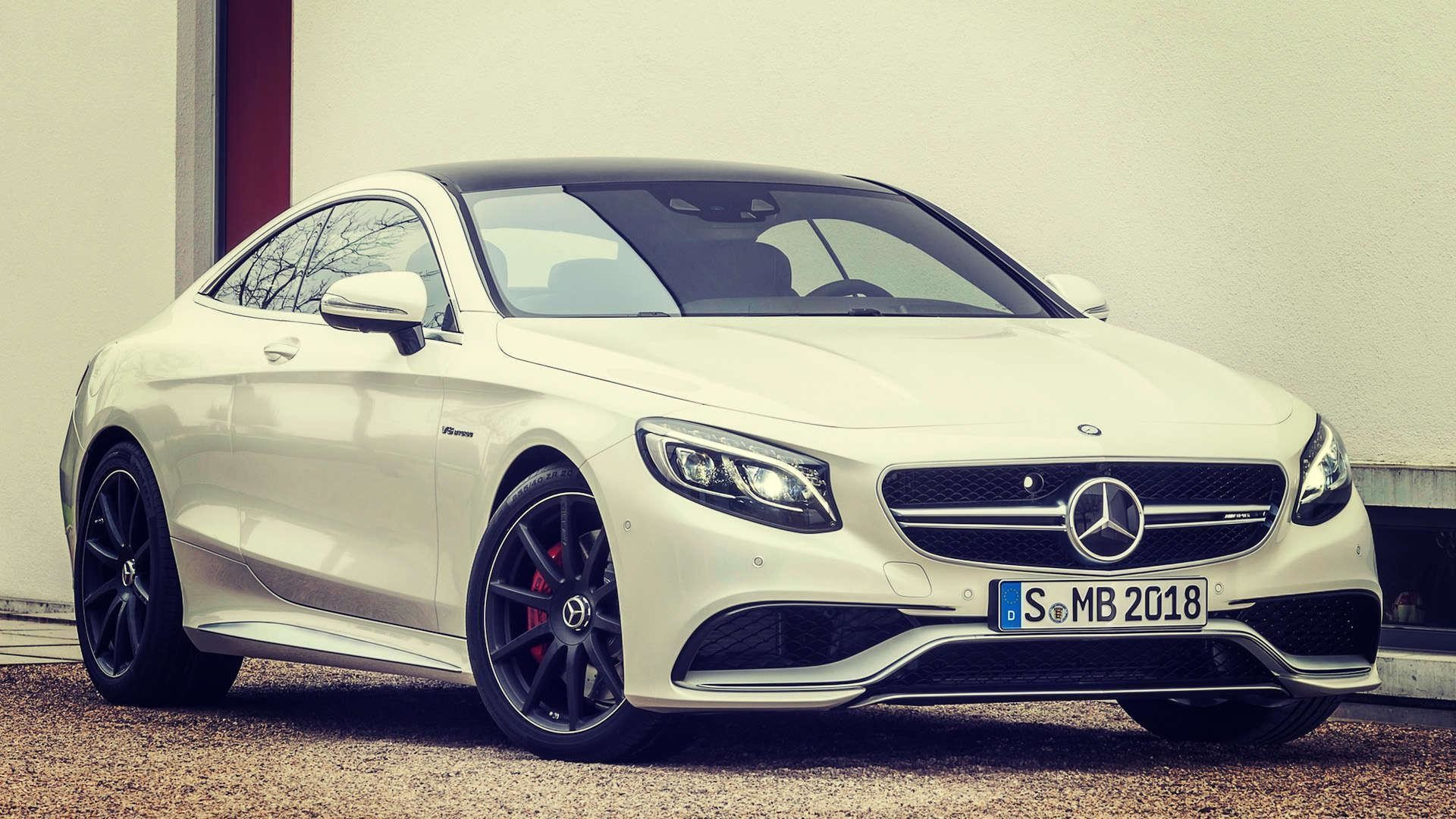 1920x1080 Download 2015 Mercedes Benz S63 AMG Coupe HD Wallpaper 1080p .