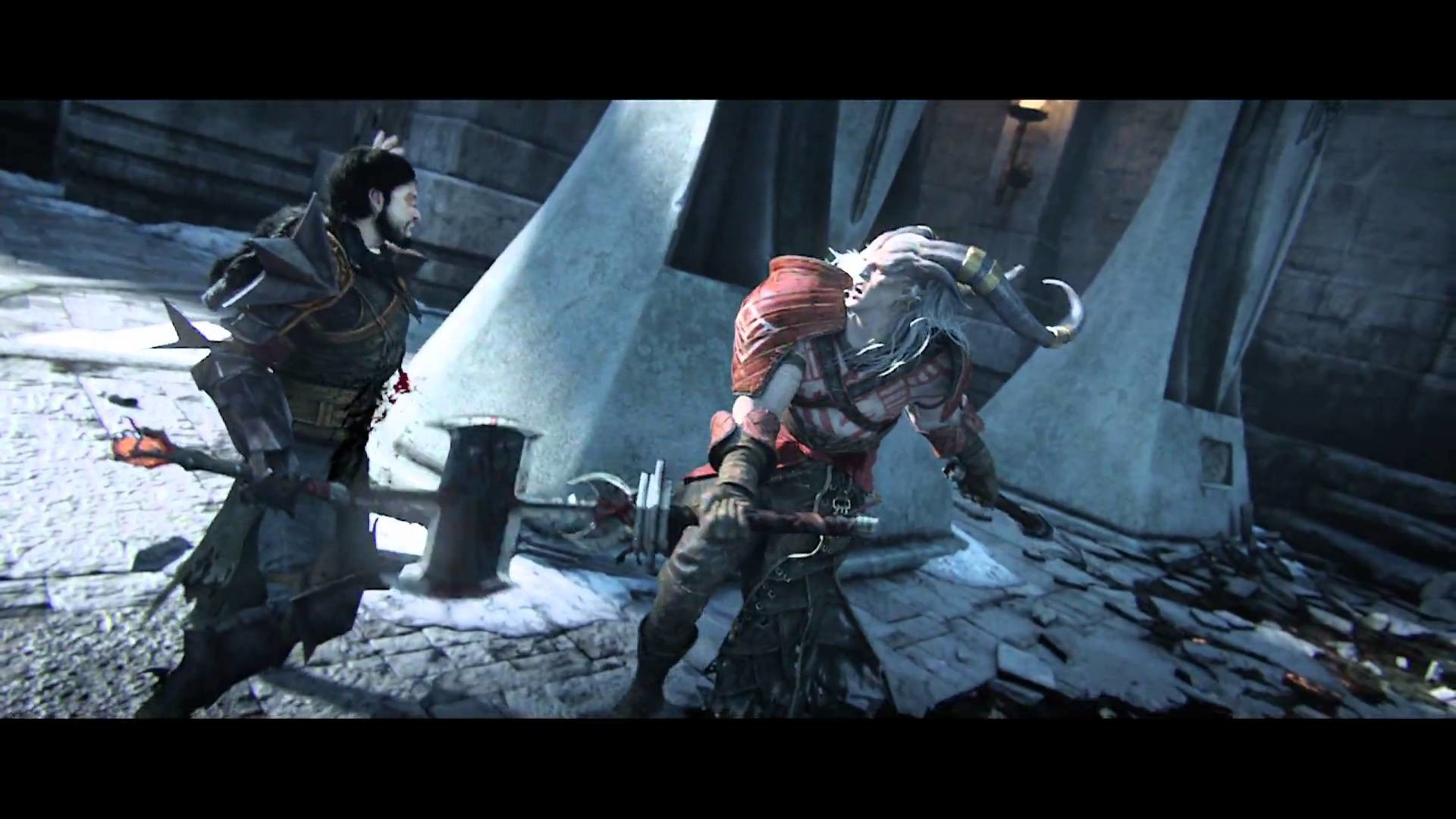 1920x1080 Dragon Age II: Destiny Trailer Extended Director's Cut Deutsch - YouTube