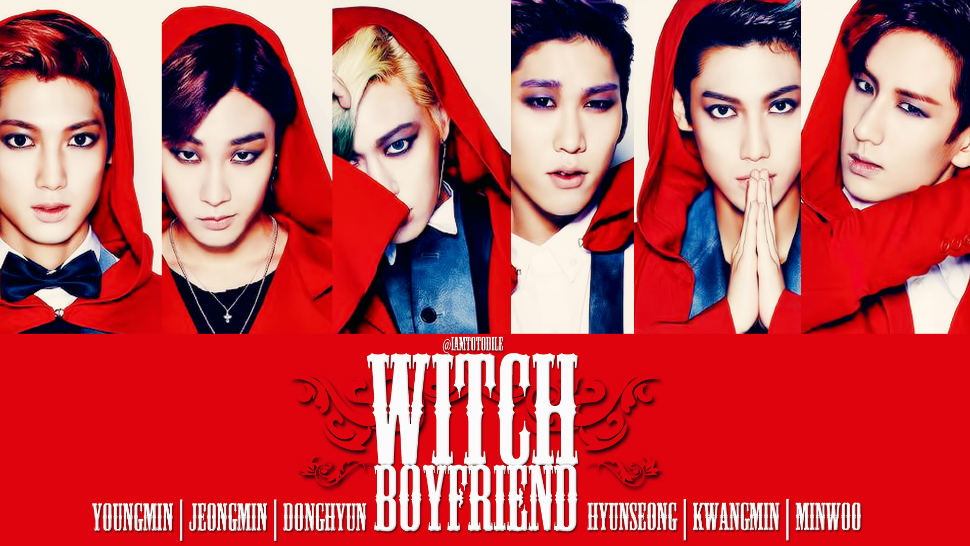1920x1080 BOYFRIEND WITCH | BOYFRIEND (보이프렌드) | Pinterest | Boyfriends and Kpop