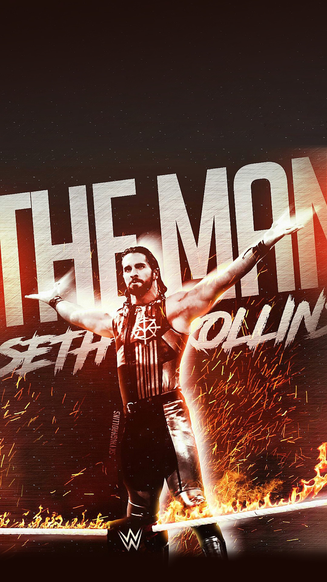 Seth Rollins Logo Wallpapers 73 Images
