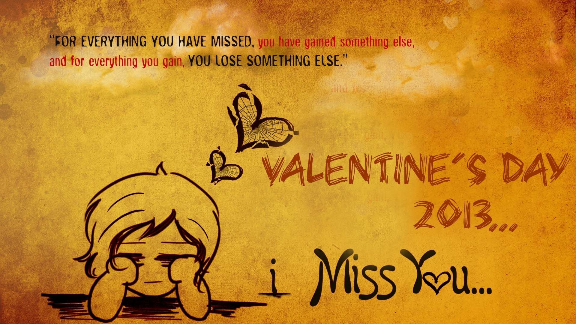 1920x1080 Valentines Day 2013 Quotes HD Wallpaper