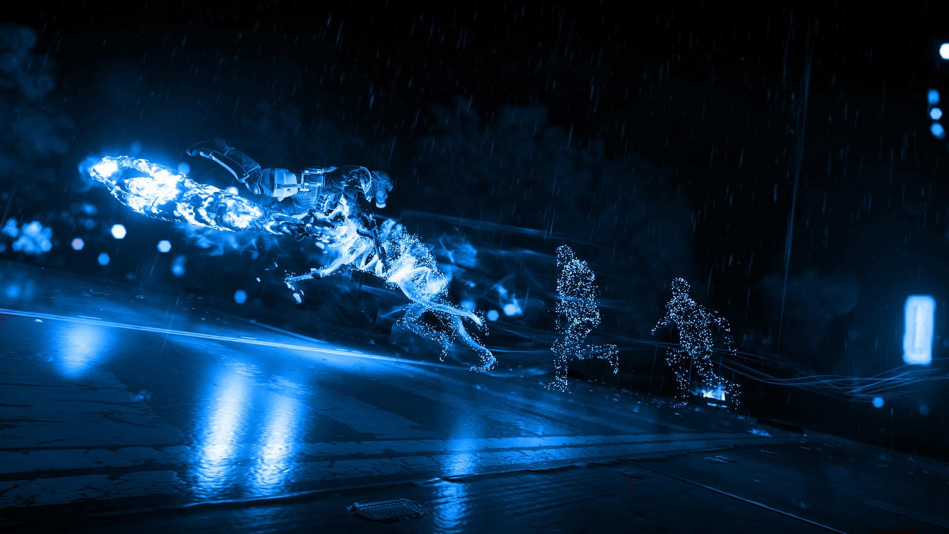 1920x1080 Blue Neon Wallpaper Hd Resolution