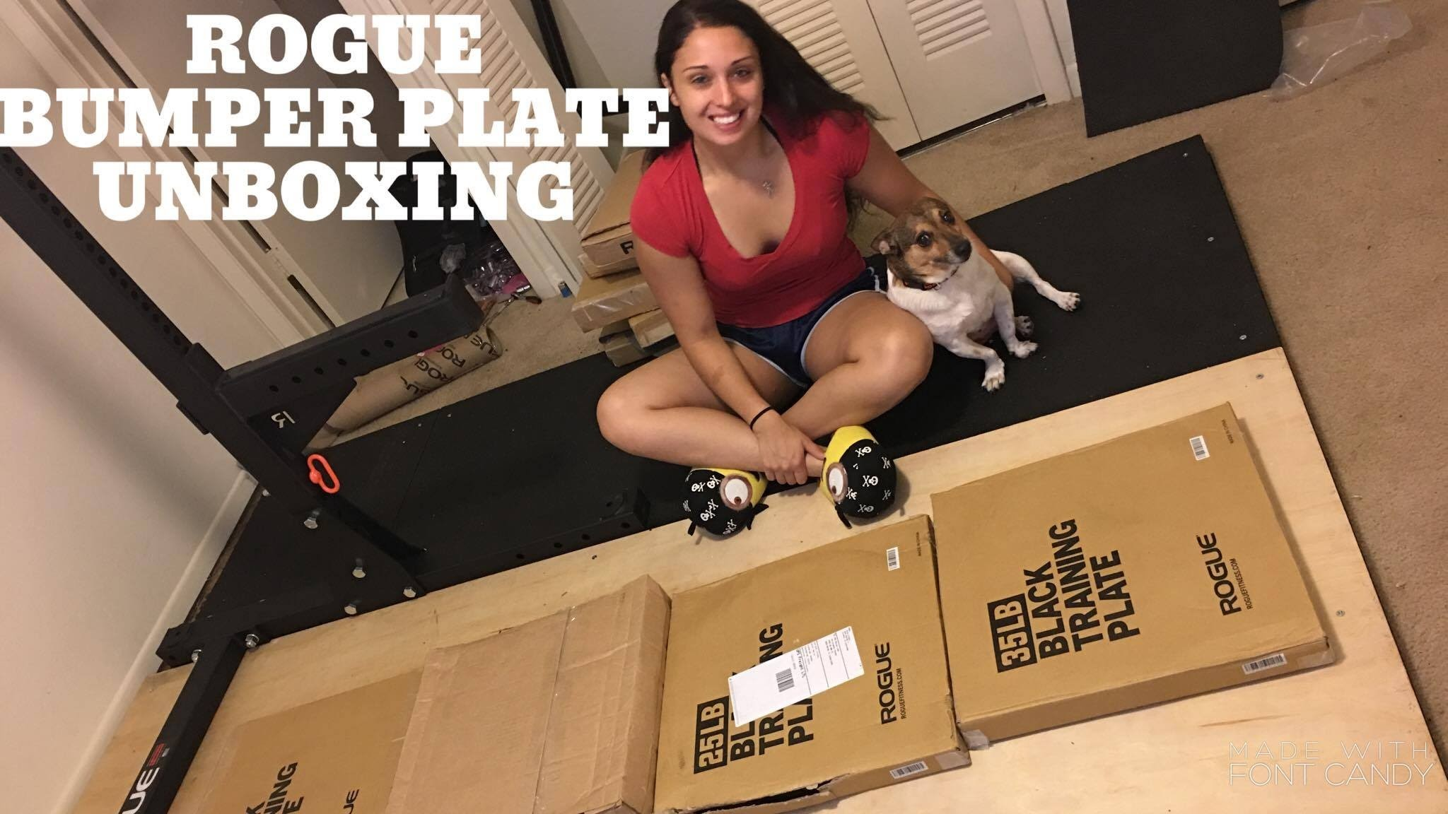 2048x1152 Complete Rogue Training 2.0 Bumper Plate Unboxing l Rogue Fitness Home Gym  - YouTube