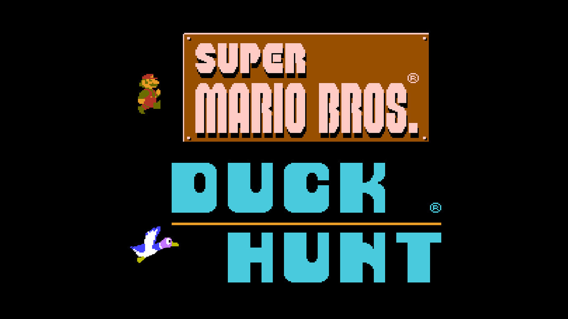 "1920x1080 Duck Hunt game pak from the Nintendo Entertainment System ""Action Set"" some  years back. Screen resolutions change, and I figured that while I was at  it, ..."