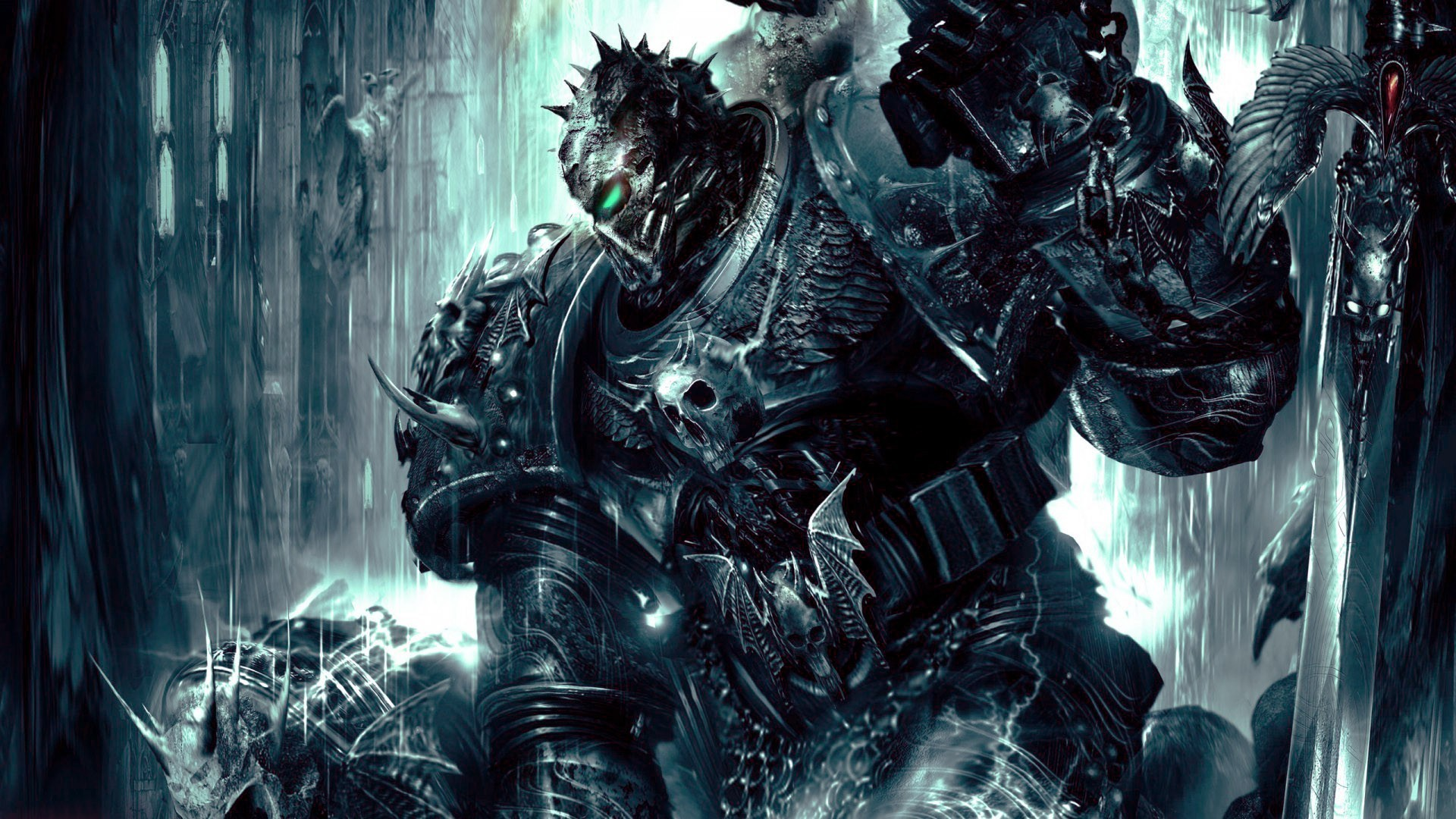 Chaos space marine wallpaper 64 images - Chaos wallpaper ...