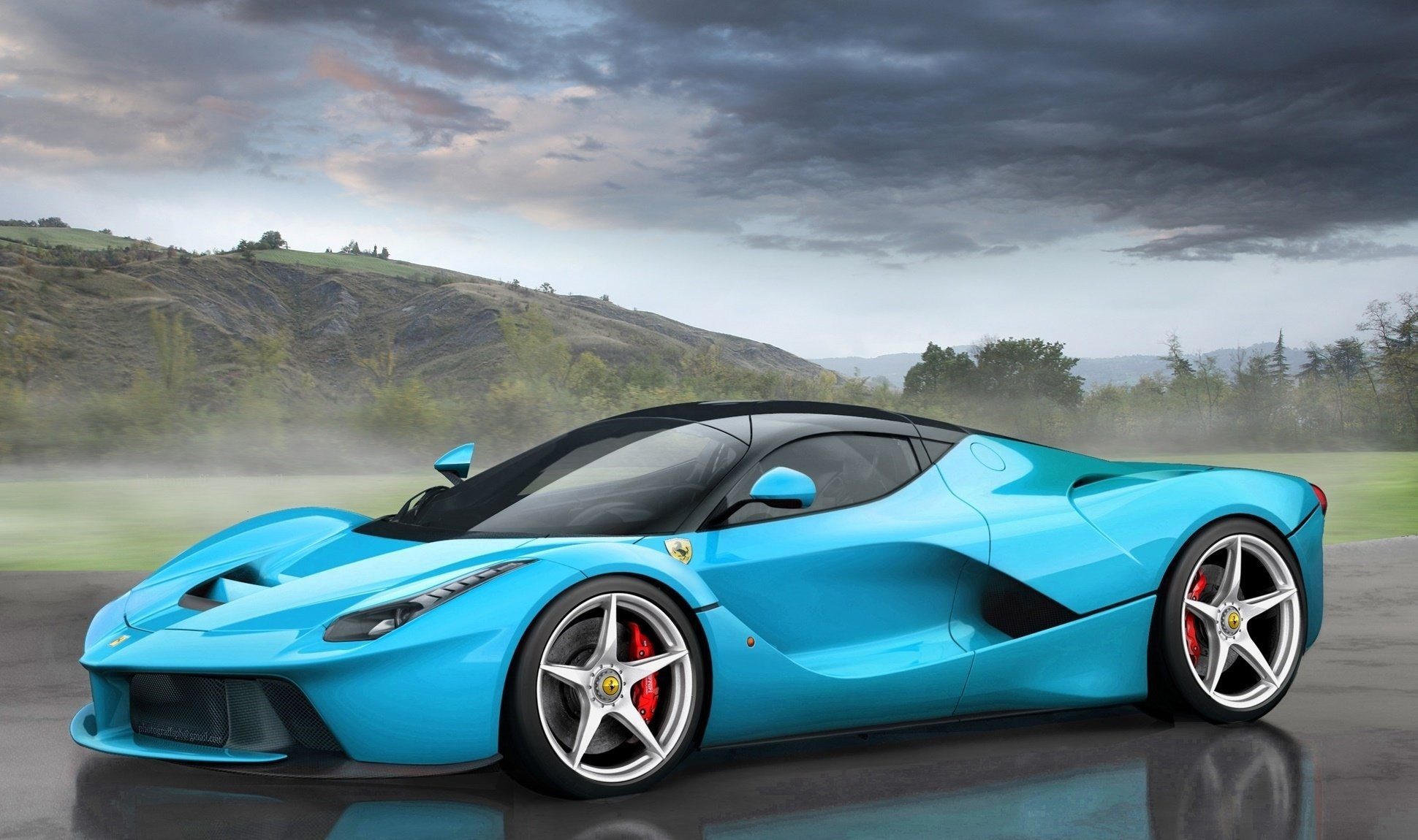 Ferrari Laferrari Wallpapers (77+ images)
