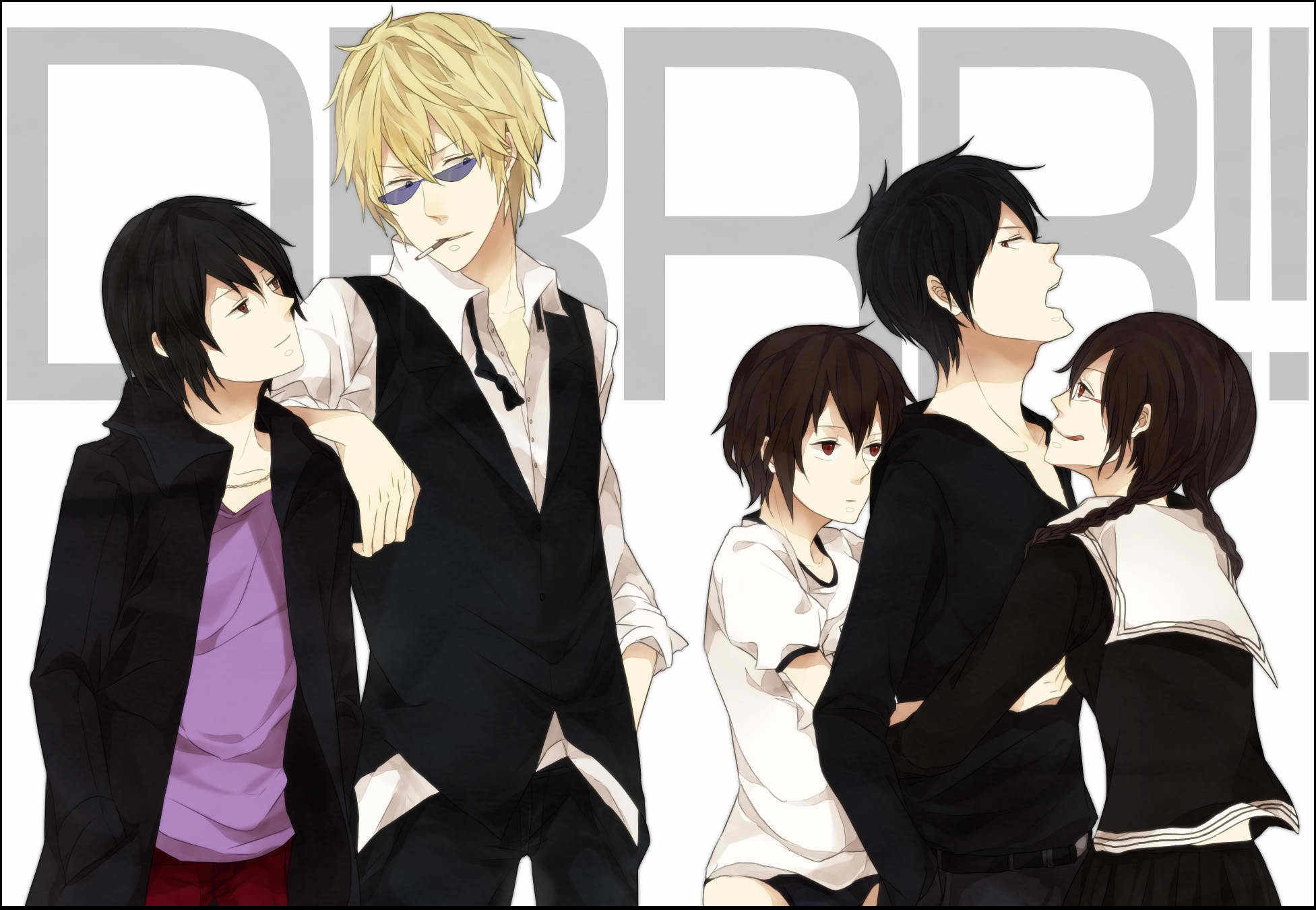 1953x1350 Durarara Wallpapers High Quality Download Free