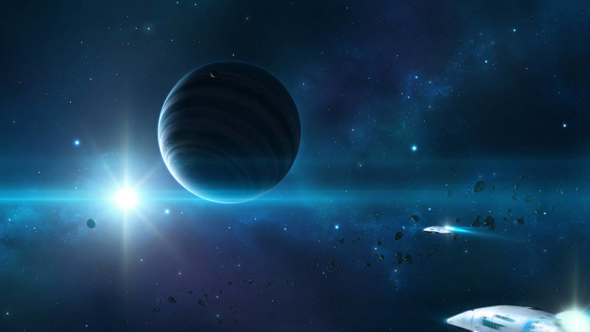Real Space Backgrounds 1920x1080