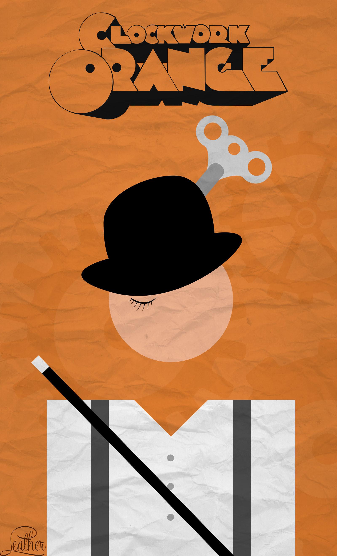 clockwork orange A clockwork orange (1971) is producer-director-screenwriter stanley kubrick's randomly ultra-violent, over-indulgent, graphically-stylized film of the near future.