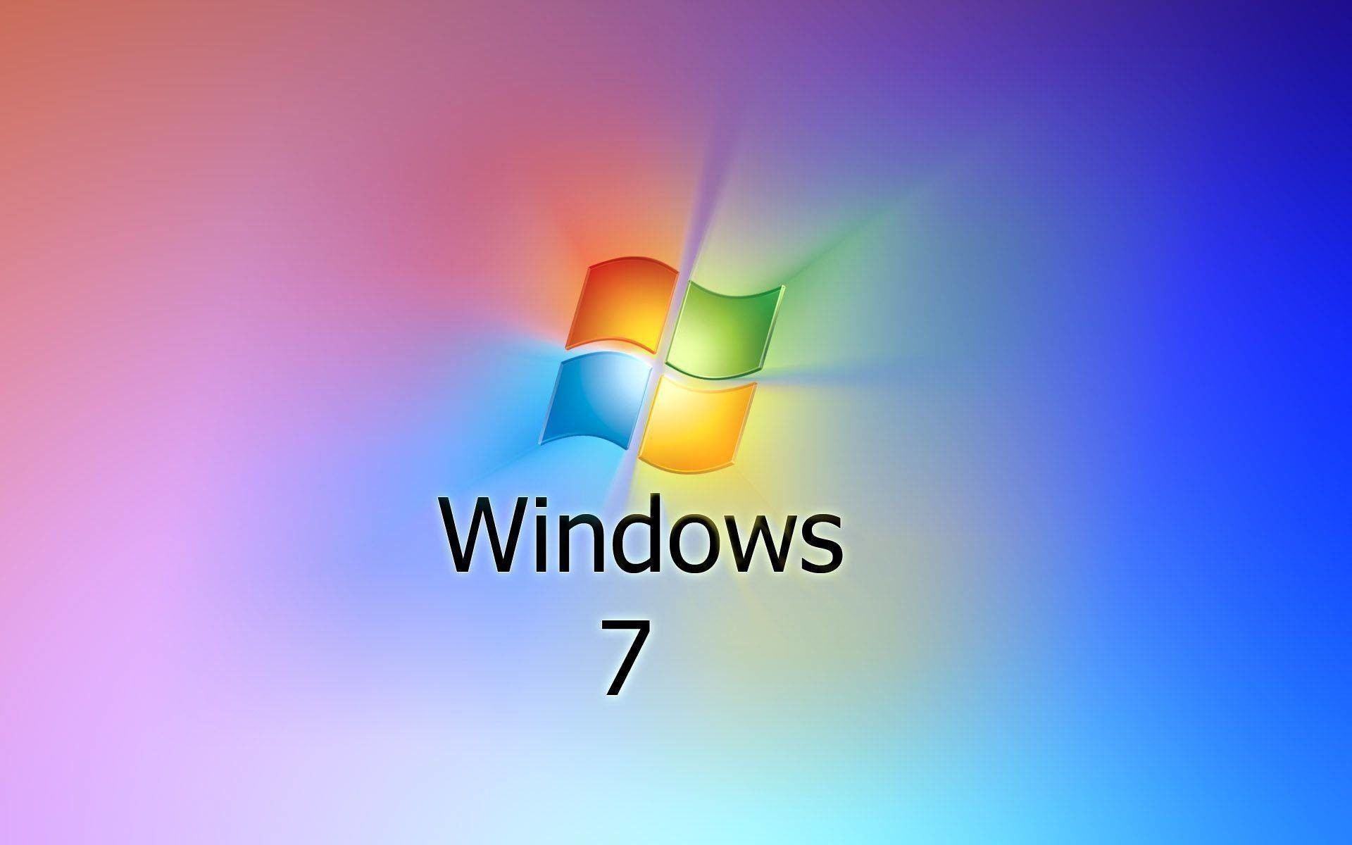 1920x1200 Wallpaperwiki Free Animated Colorful Windows 7 Logo
