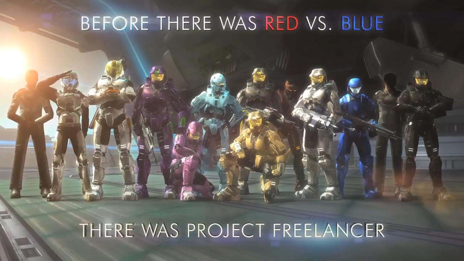 Red vs Blue Wallpaper (79+ images)