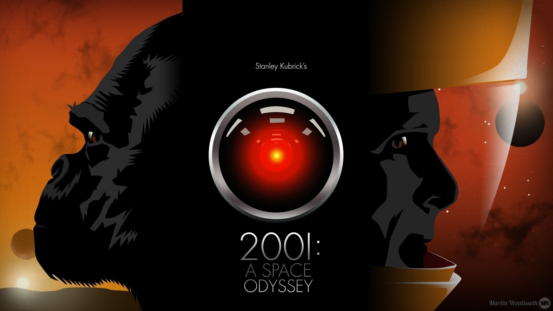 1920x1080 2001: A Space Odyssey, HAL 9000 HD Wallpapers / Desktop and Mobile Images &  Photos